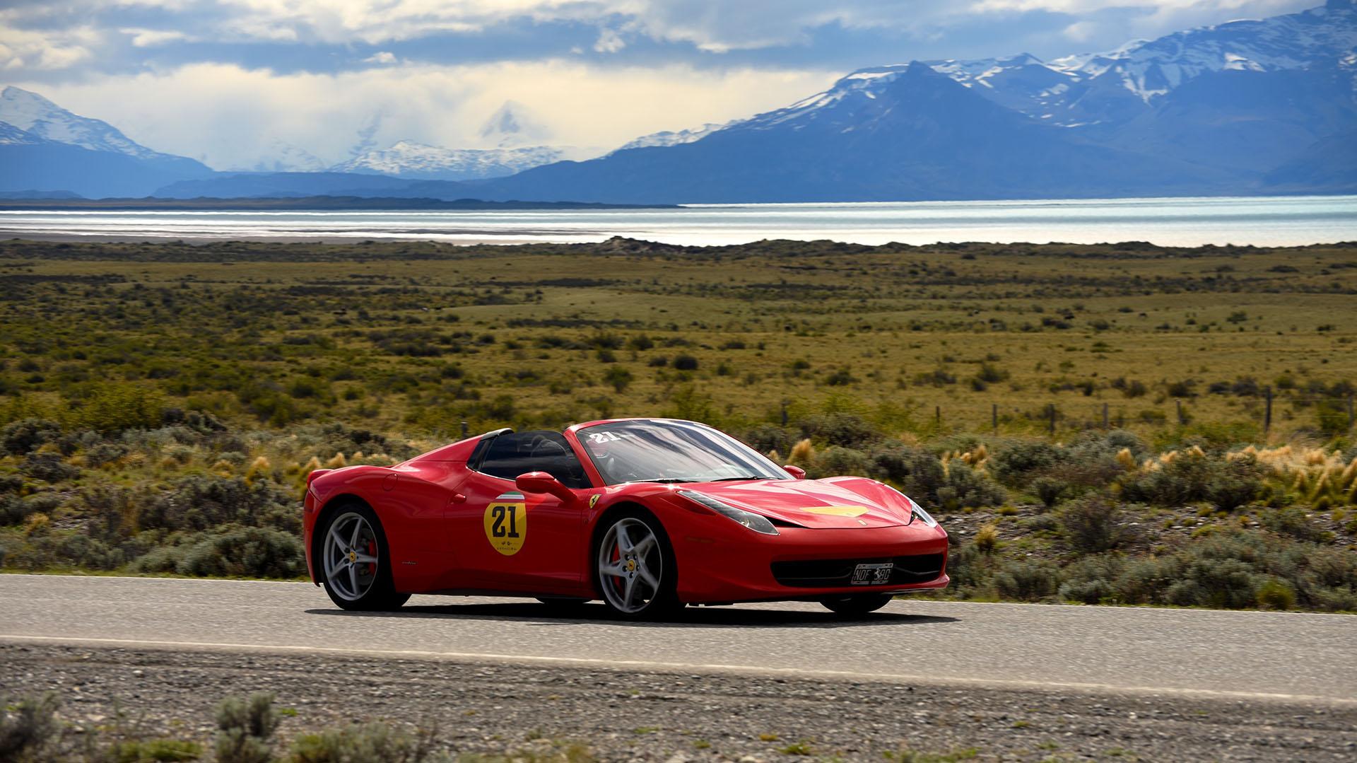El recorrido continuó con Puerto Natales y Las Torres del Paine para luego cruzar a la Argentina. Por la tarde realizaron una exhibición pública en el Anfiteatro de El Calafate y pasaron la primera noche en el hotel Alto Calafate, en la provincia de Santa Cruz. Al día siguiente se dirigieron al Glaciar Perito Moreno