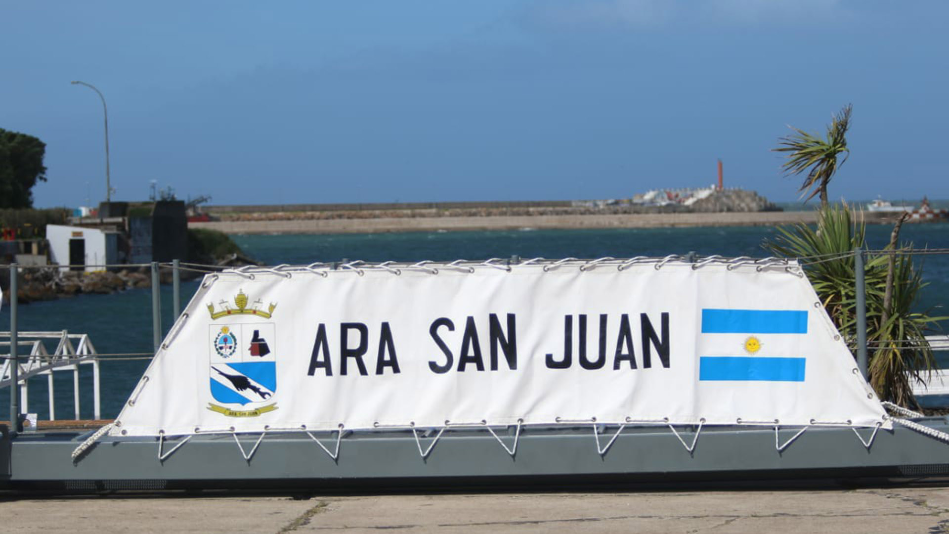 El homenaje fue en la Base Naval Mar del Plata (Christian Heit)