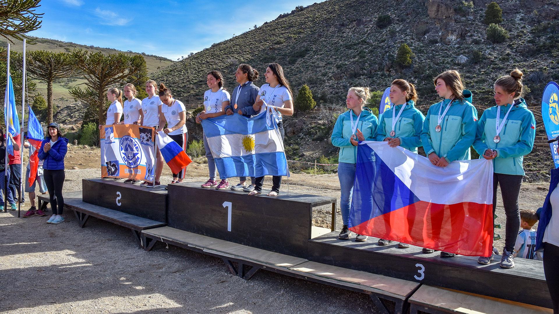 Resultado de imagen para mundial de rafting argentinas sub 19 mujeres