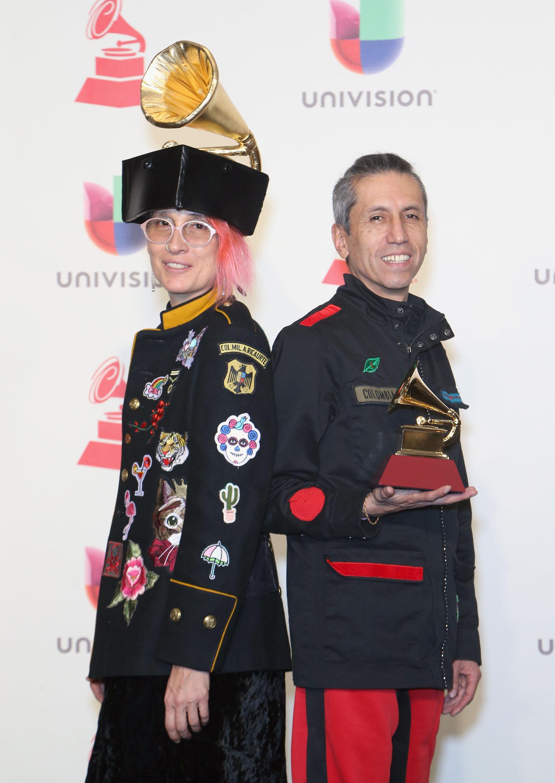Andrea Echeverri y Hector Buitrago