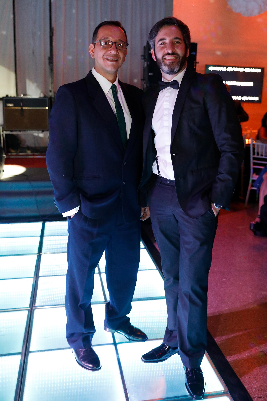 Franco Ivan Gallo y el productor Daniel Martínez Barreto /// Fotos: Julián Valerga
