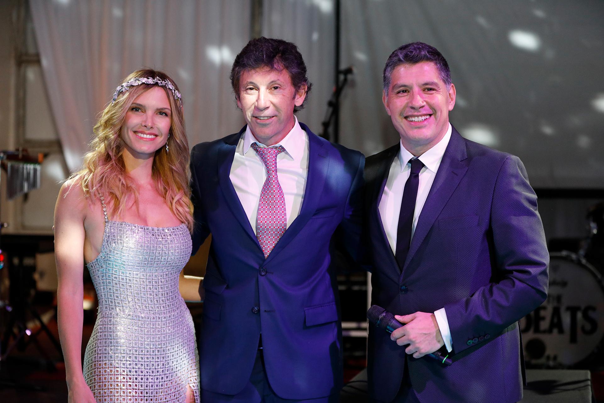 Sofía Zámolo, Gustavo Posse y Guillermo Lobo