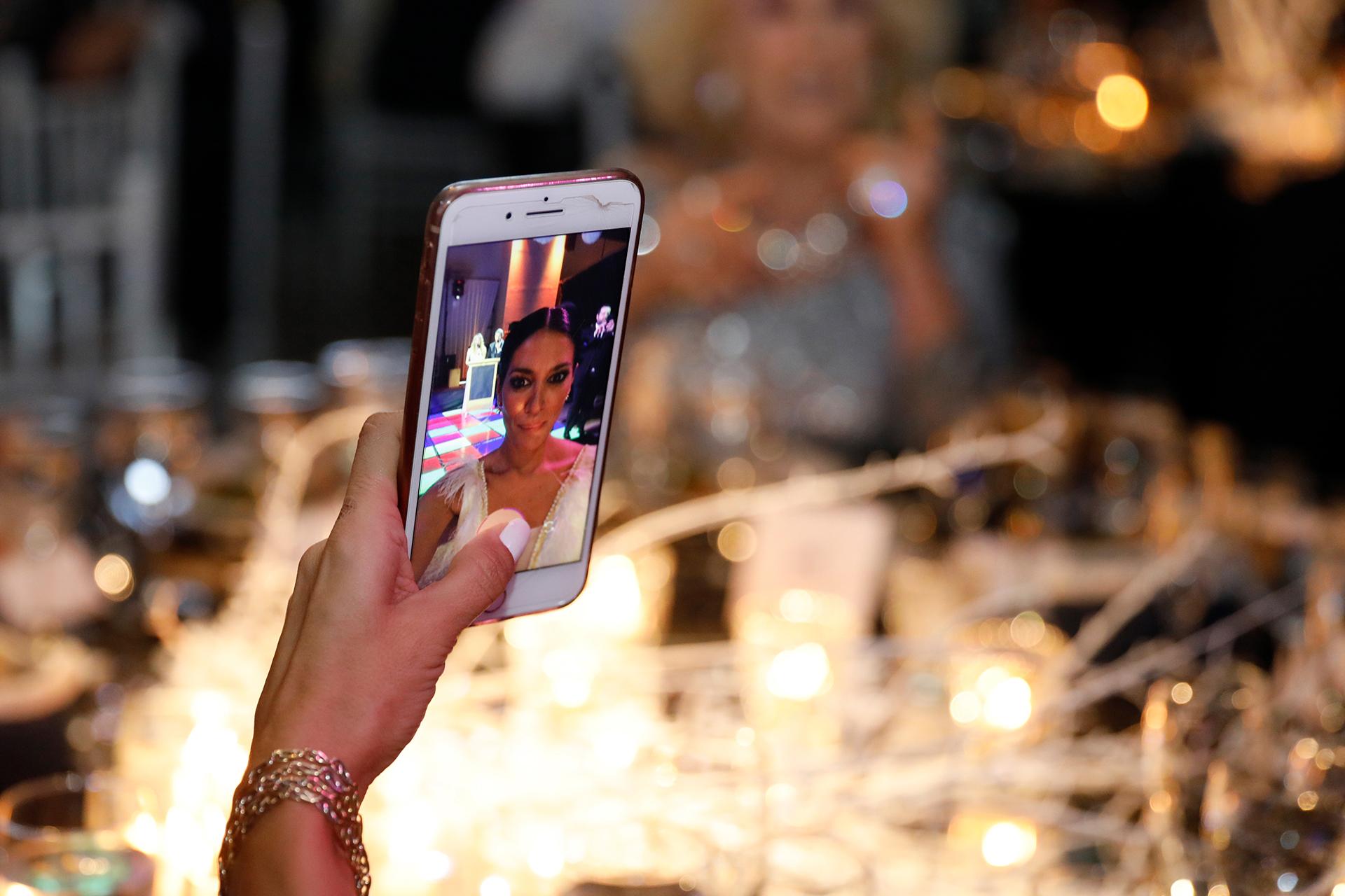 La selfie de Silvina Escudero