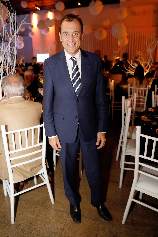 """Diego Prado, director de Asuntos Corporativos de Toyota Argentina, una de las empresas que también recibió el """"Cheers"""""""