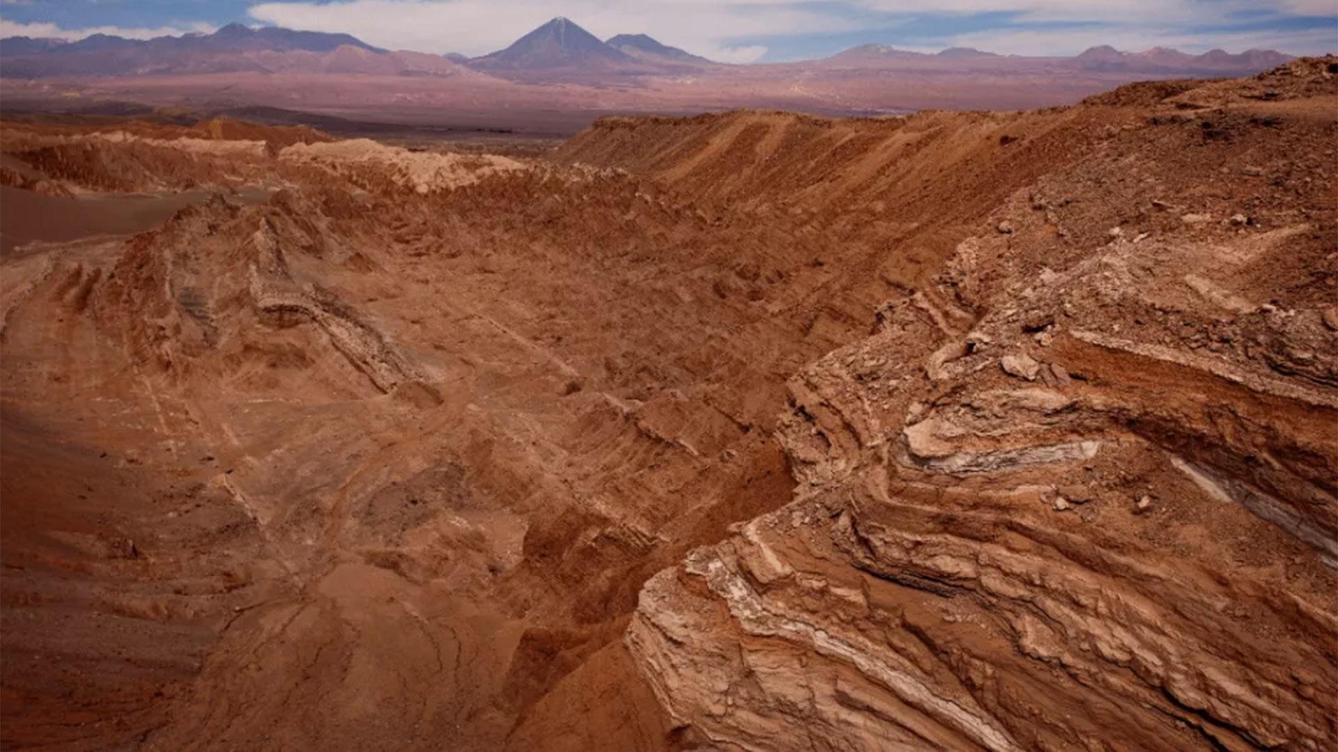 El Atacama en chile no ha registrado precipitaciones significativas en medio siglo (Foto: AP)