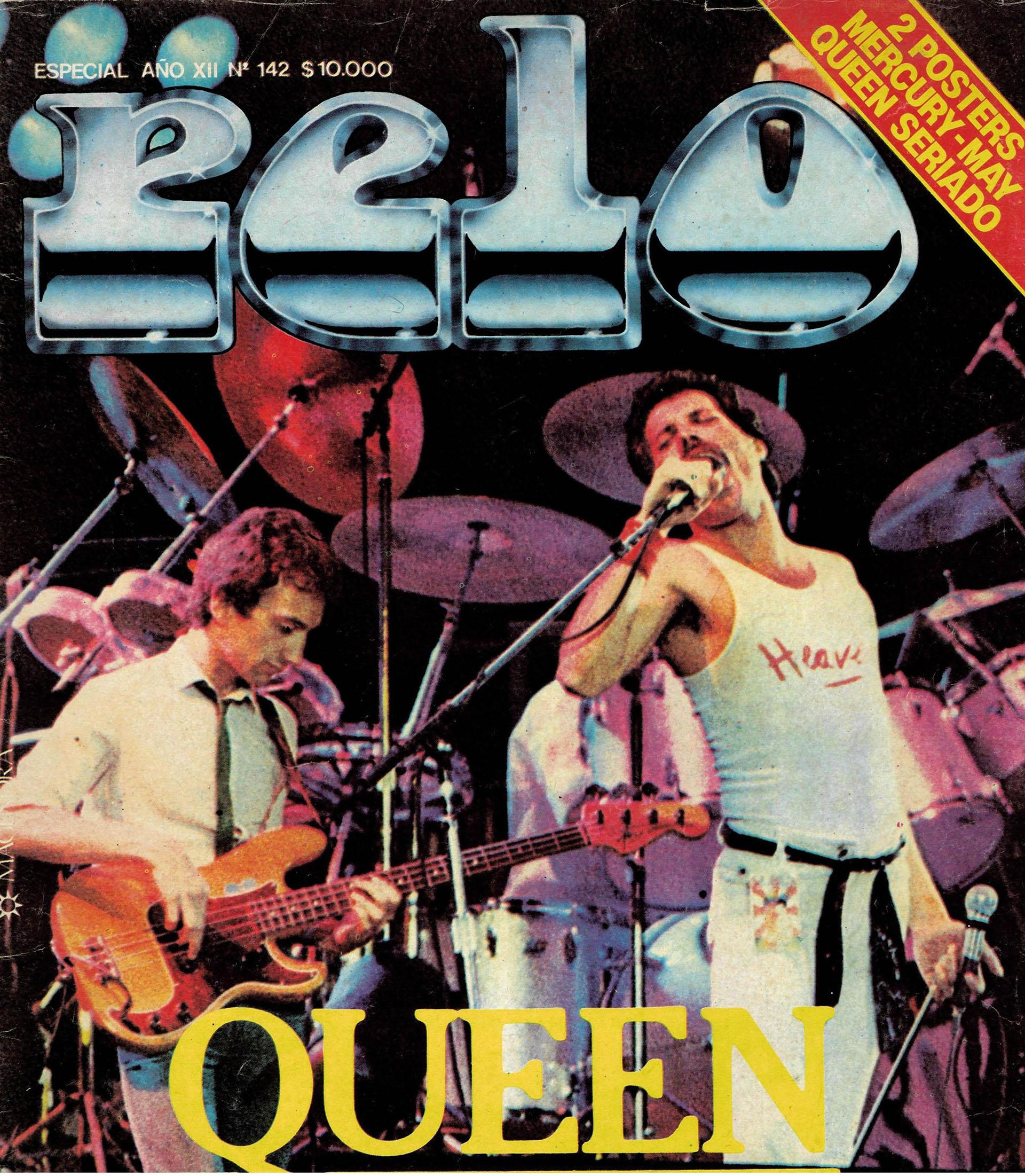 Las revistas de la época reflejaron la presencia de la banda británica en el país