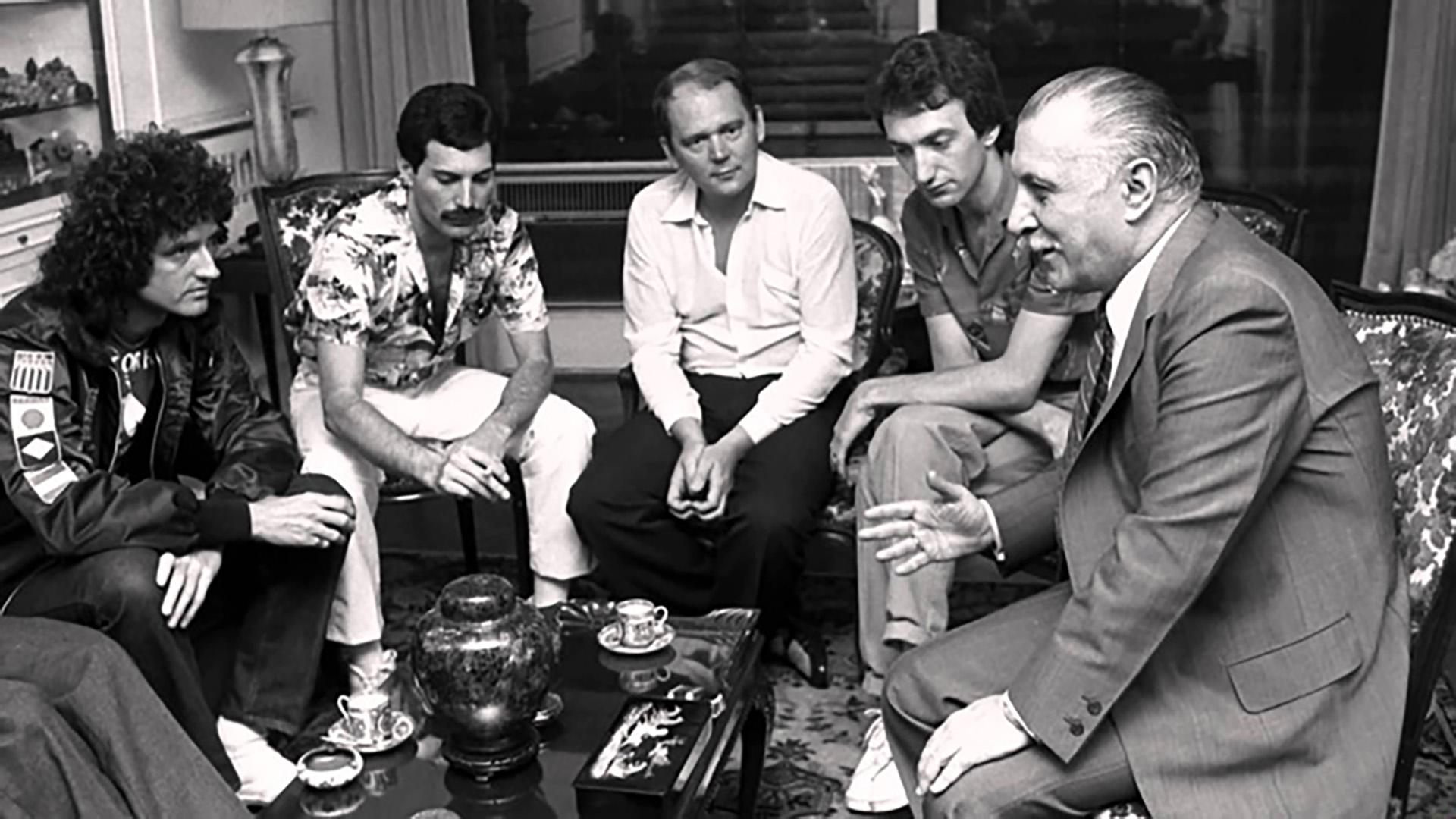 Los agitados días de Queen en la Argentina: secretos detrás de los shows,  el encuentro con Maradona y un desengaño amoroso para Freddie Mercury -  Infobae