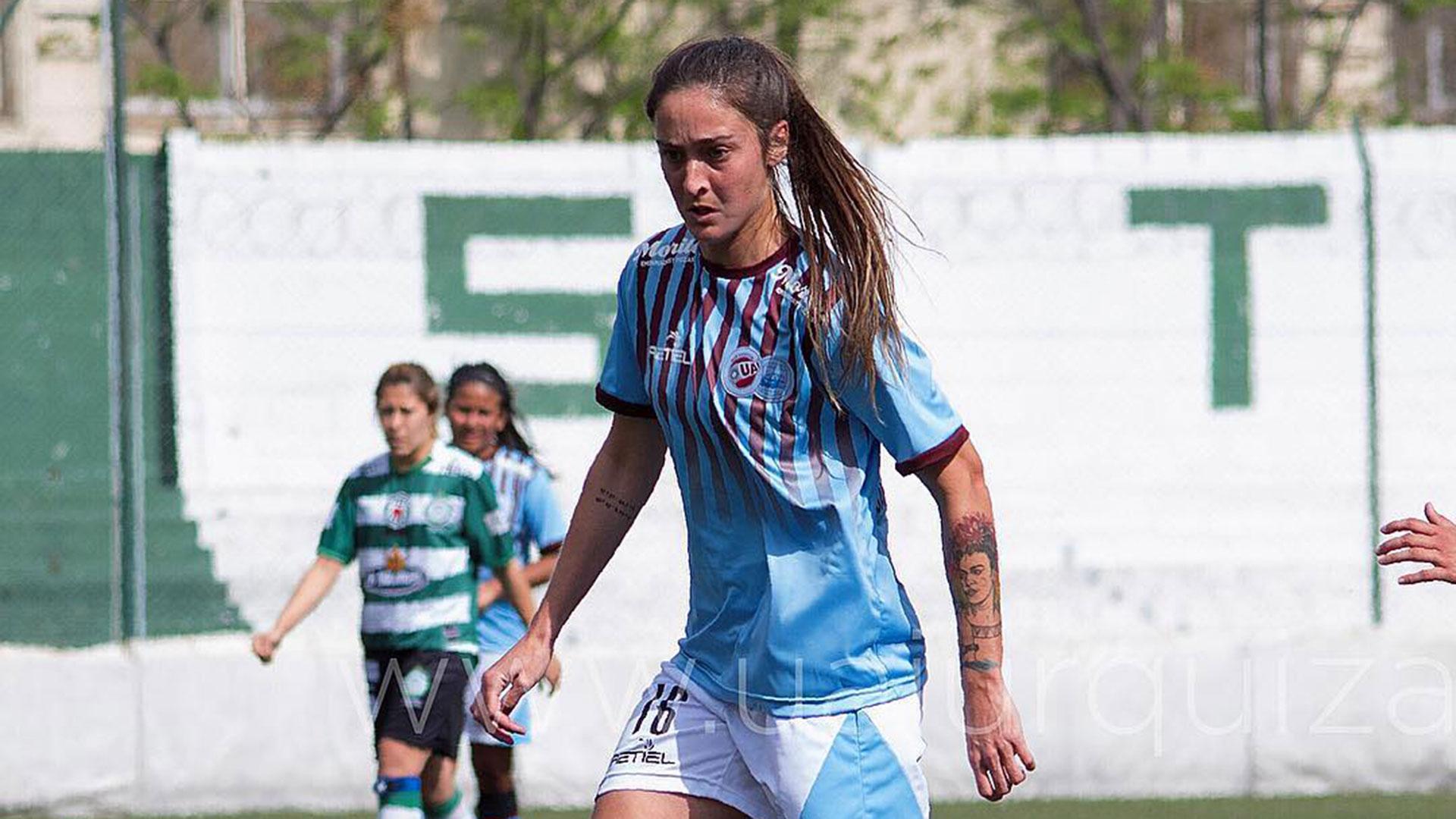 Macarena Sánchez reclama la profesionalización del fútbol femenino en Argentina