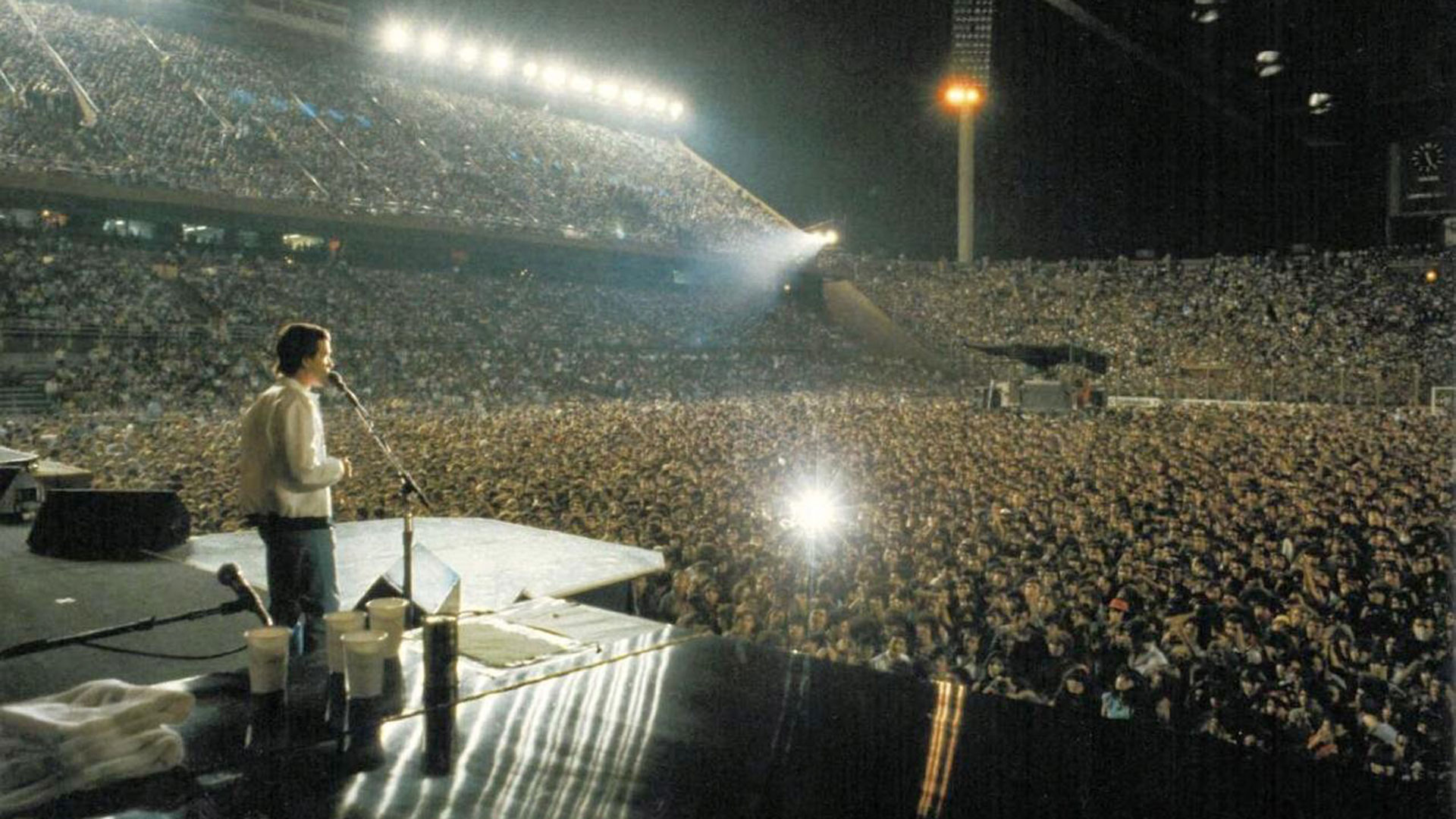 Queen en el estadio de Vélez