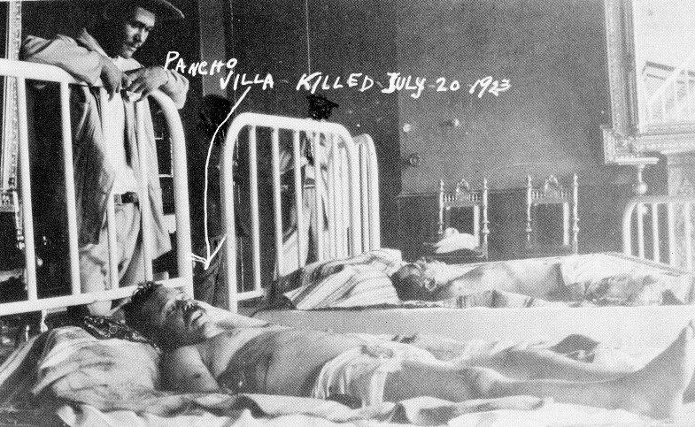 La foto representativa de la emboscada al revoluucionario