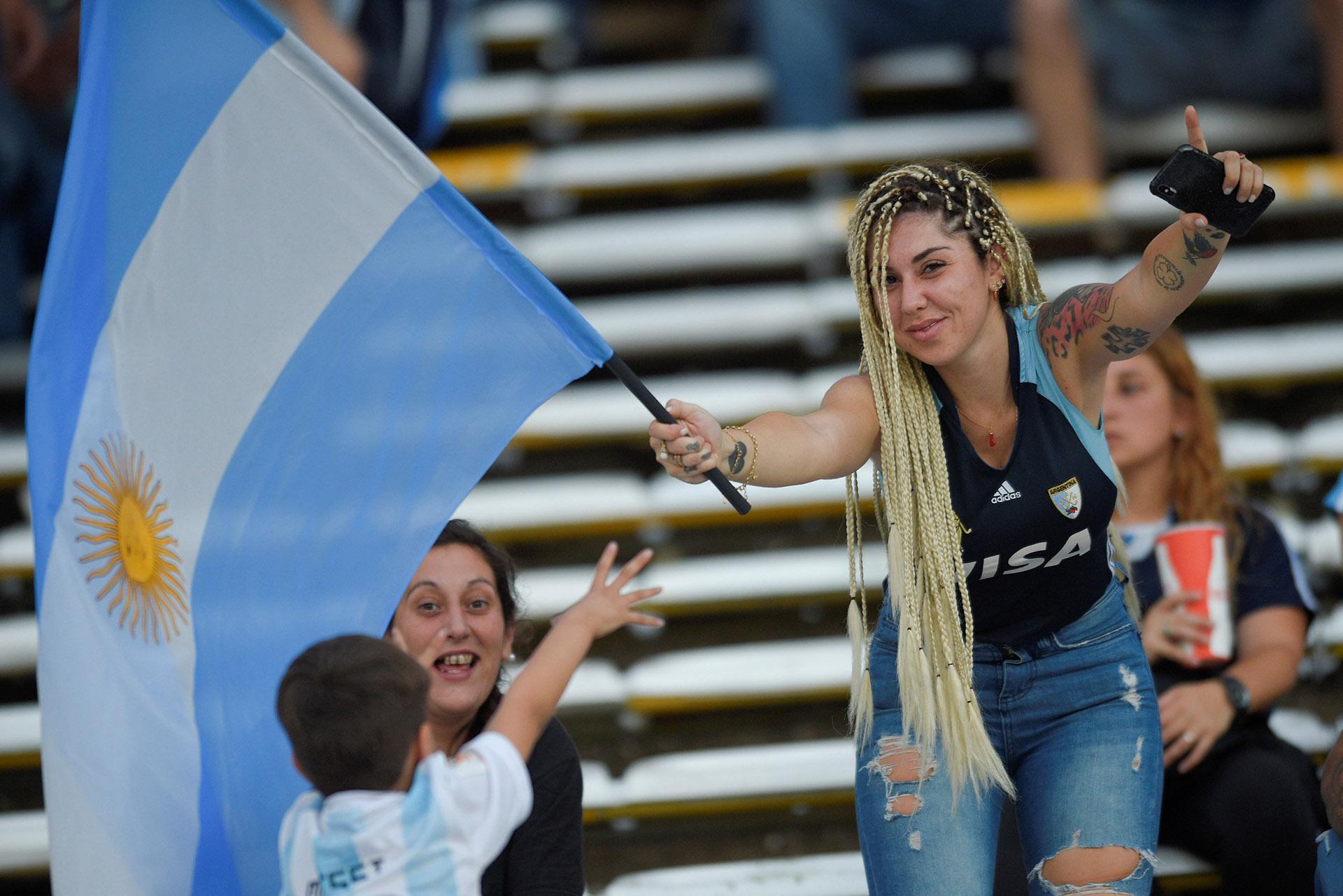 La felicidad de los locales se firmó con el 2 a 0 definitivo (Reuters)