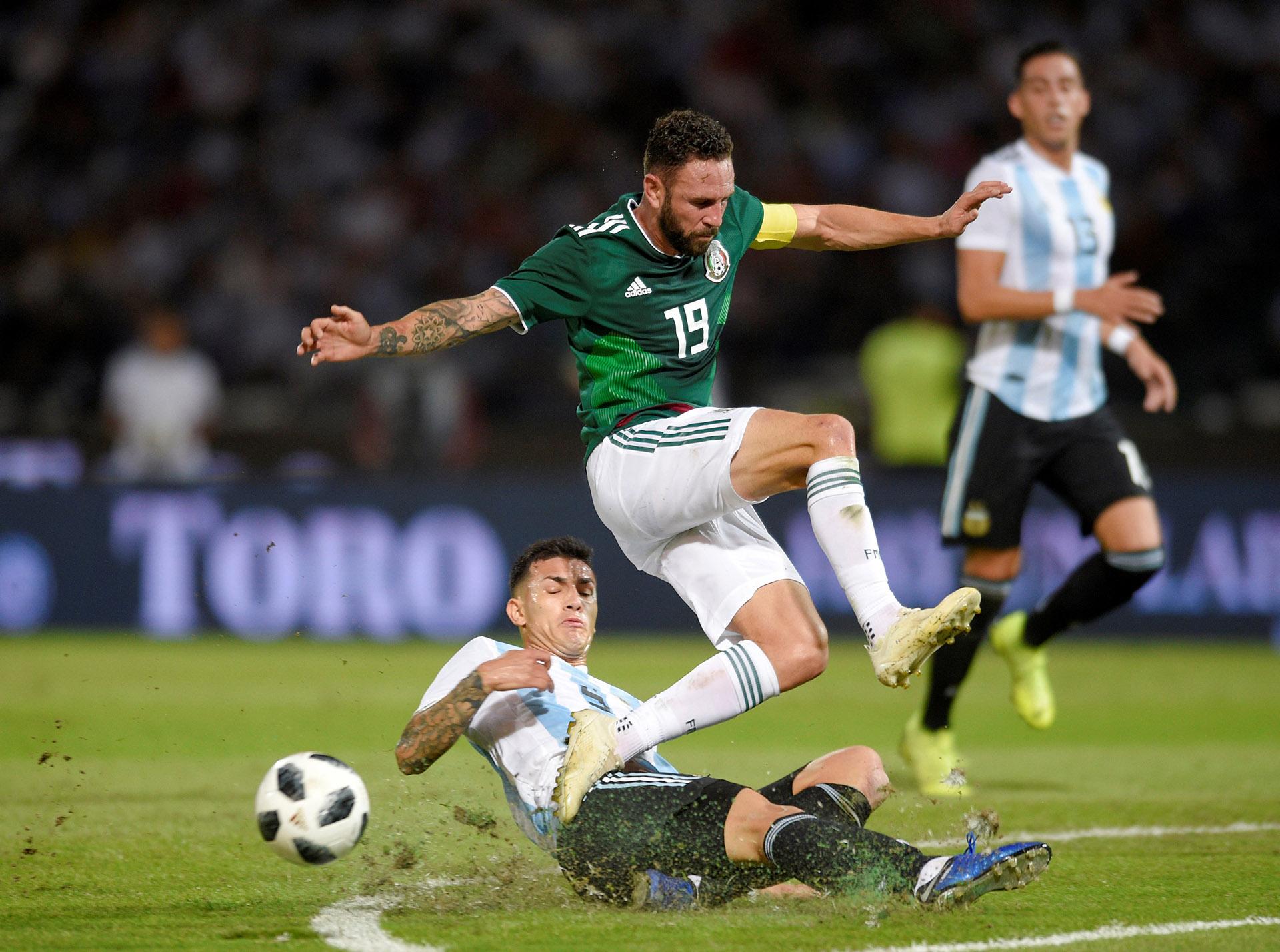 Leandro Paredes fue una de las figuras de la cancha (Reuters)