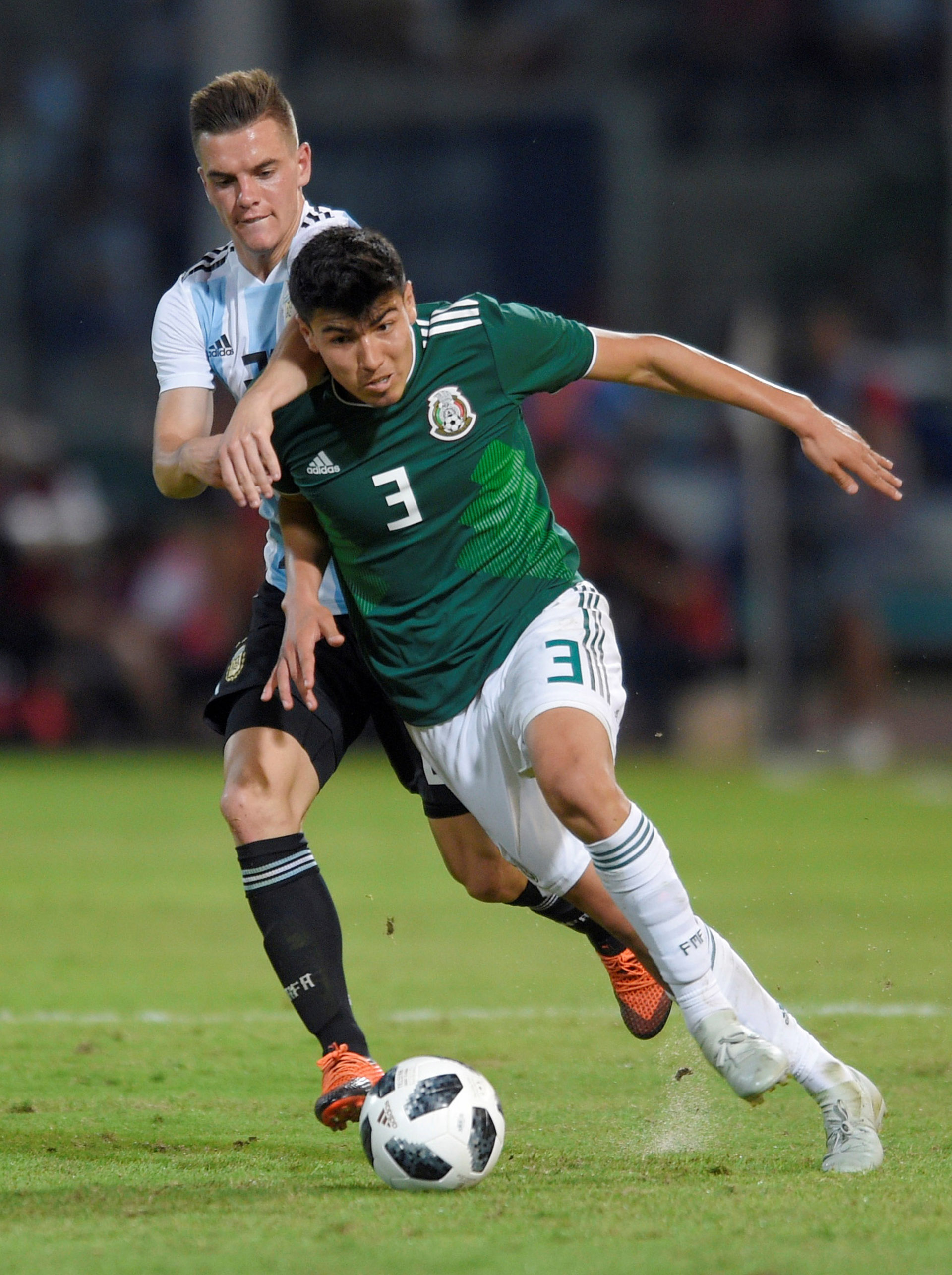 El próximo martes la Selección volverá a jugar con México en Mendoza (Reuters)