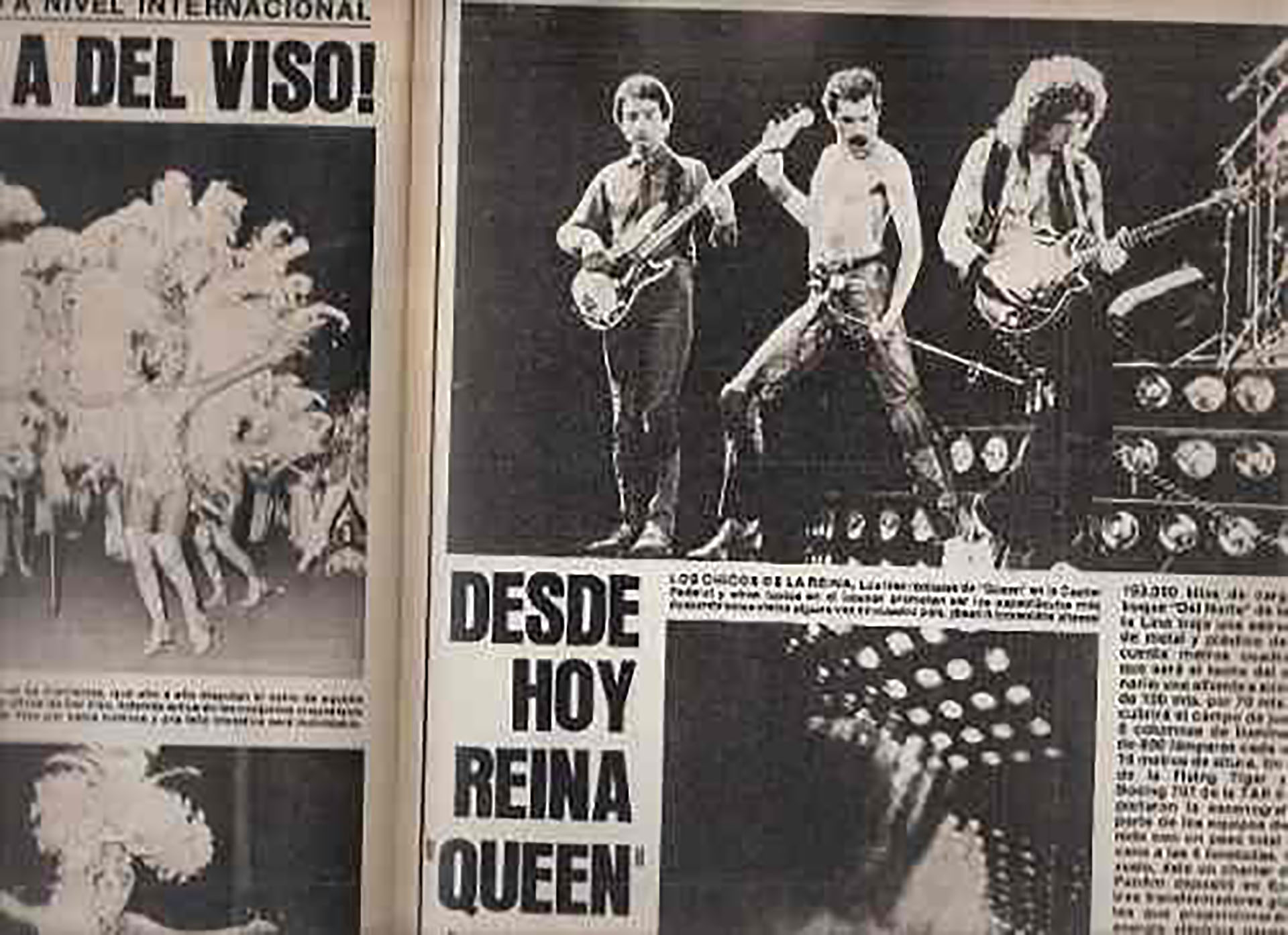 Queen brindó cinco shows en la Argentina
