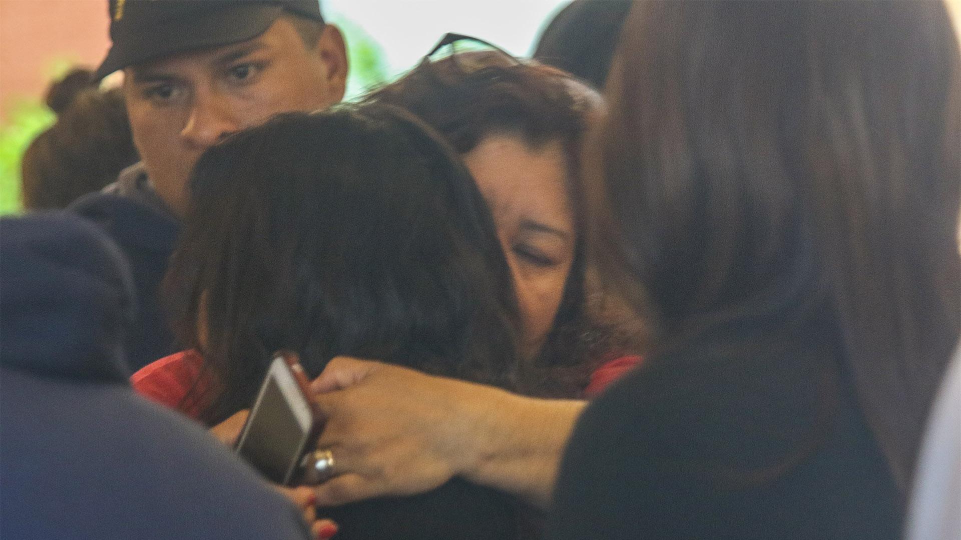 El dolor de los familiares de los tripulantes del ARA San Juan (Christian Heit)