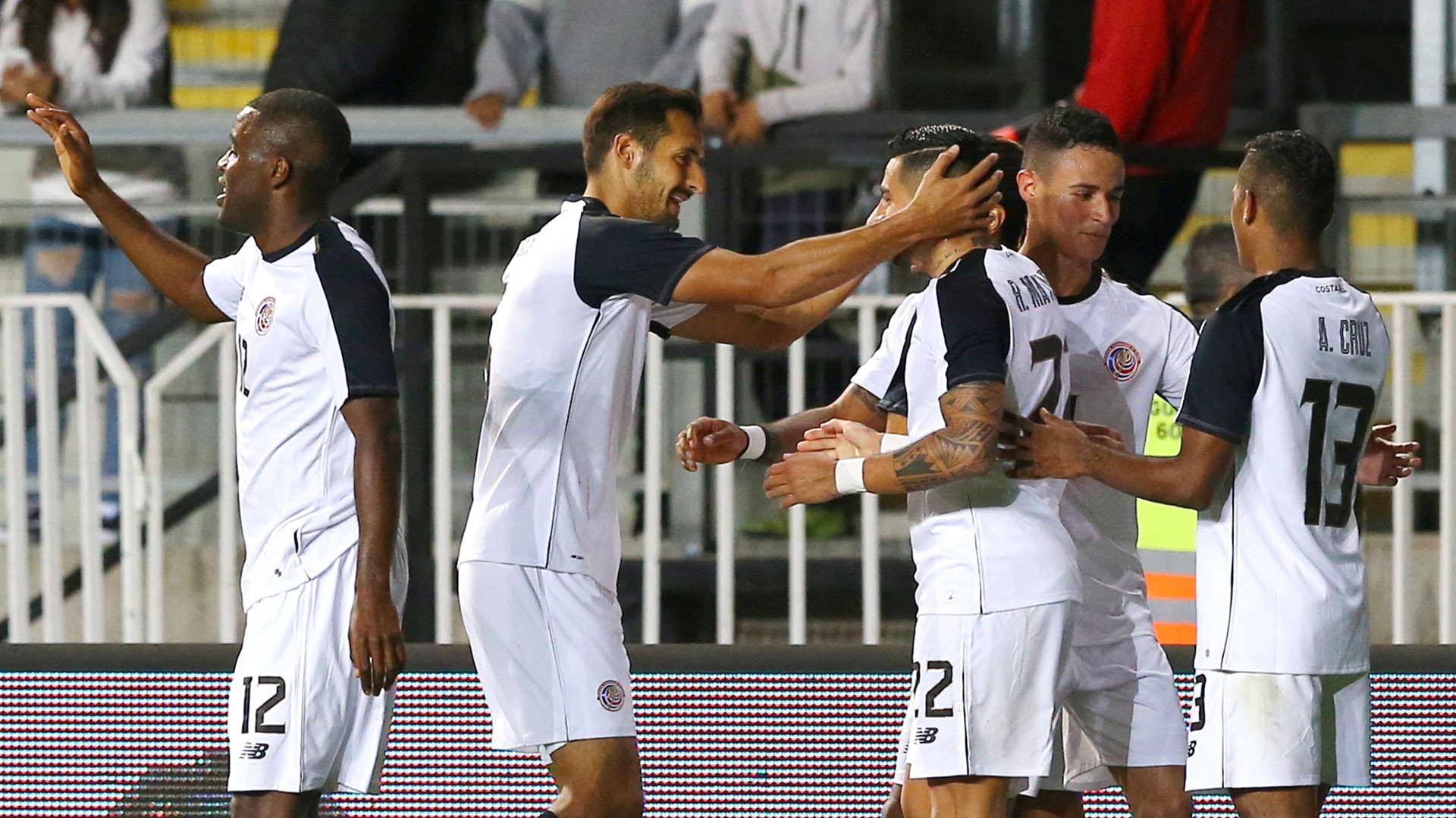 Costa Rica se impuso a Chile en un amistoso jugado en Rancagua (REUTERS)