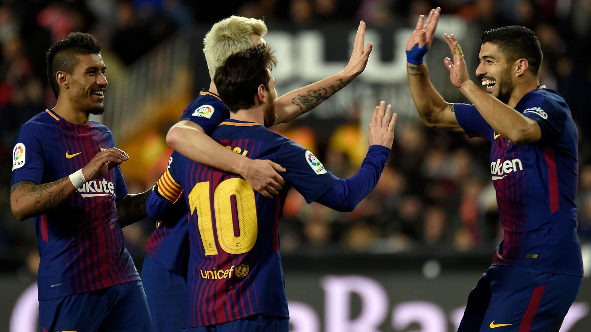 El Barcelona necesita una victoria para prolongar su liderazgo (AFP)