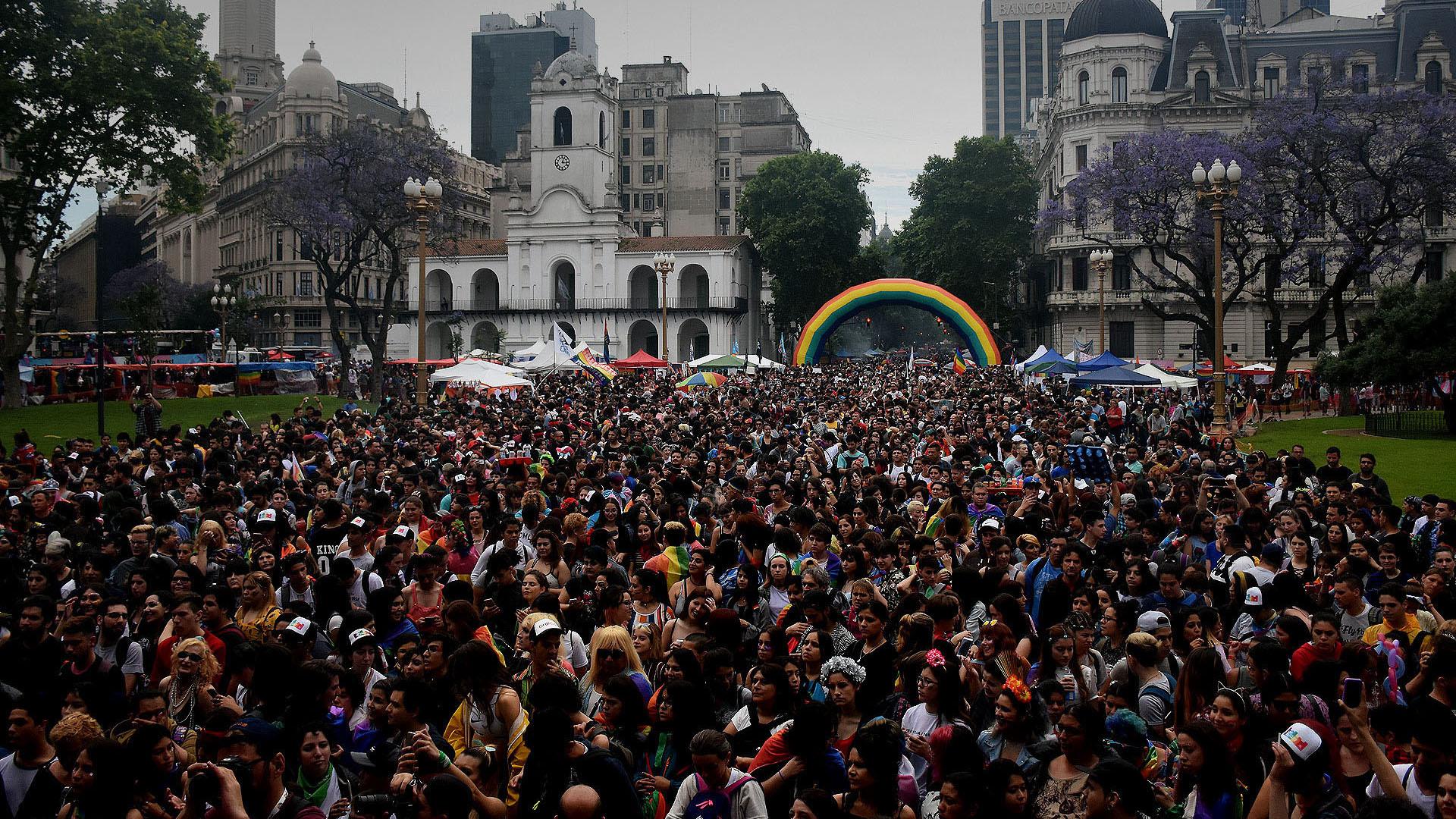 Miles de personas participaron de una nueva movilización