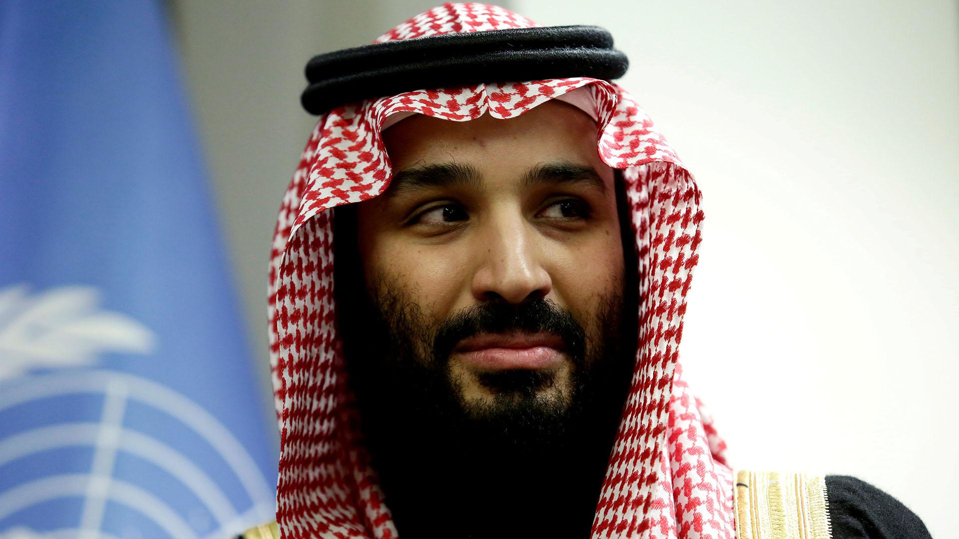 El príncipe heredero saudita, Mohammed bin Salman (Reuters)