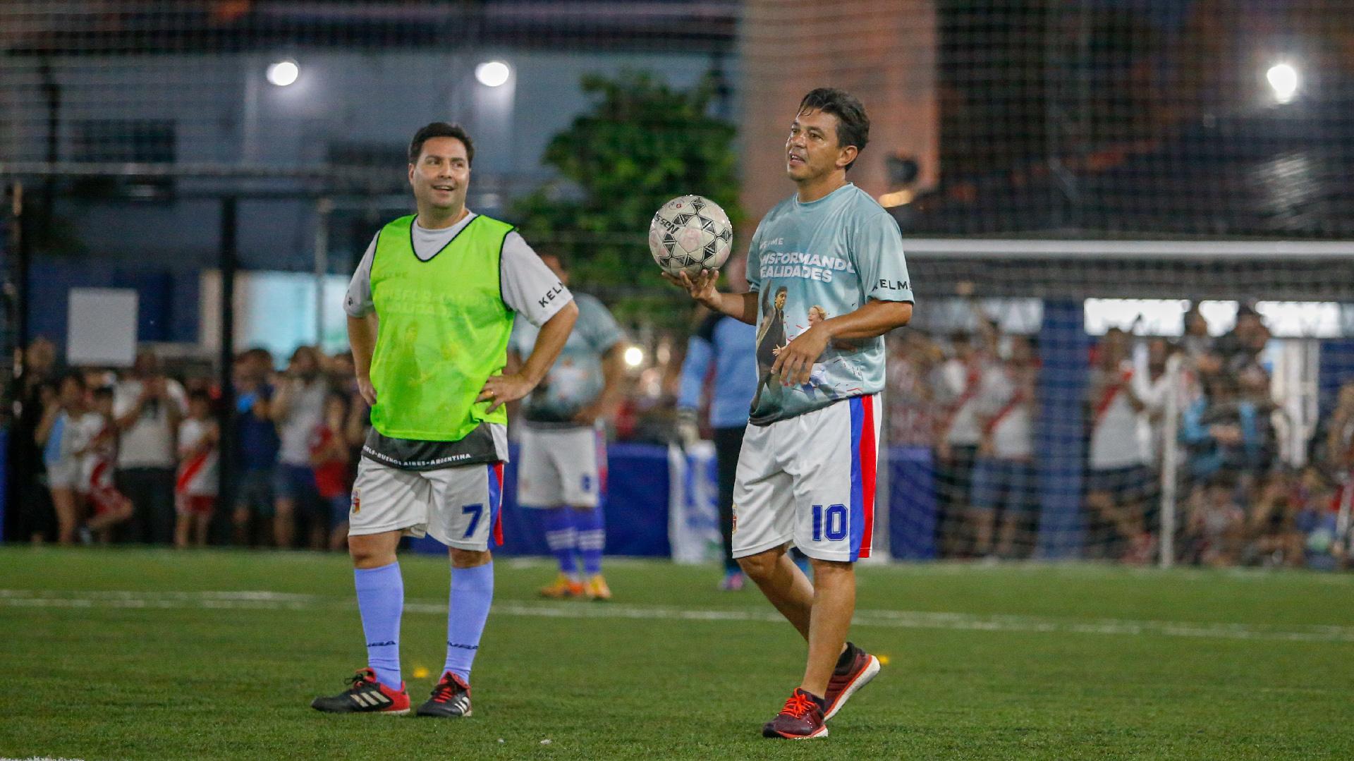 Y mostró varias muestras de su talento, como para que evalúe seriamente su inclusión en la formación de su River de cara a la segunda Superfinal de la Copa Libertadores ante Boca, pautada para el sábado 24 en el Monumental