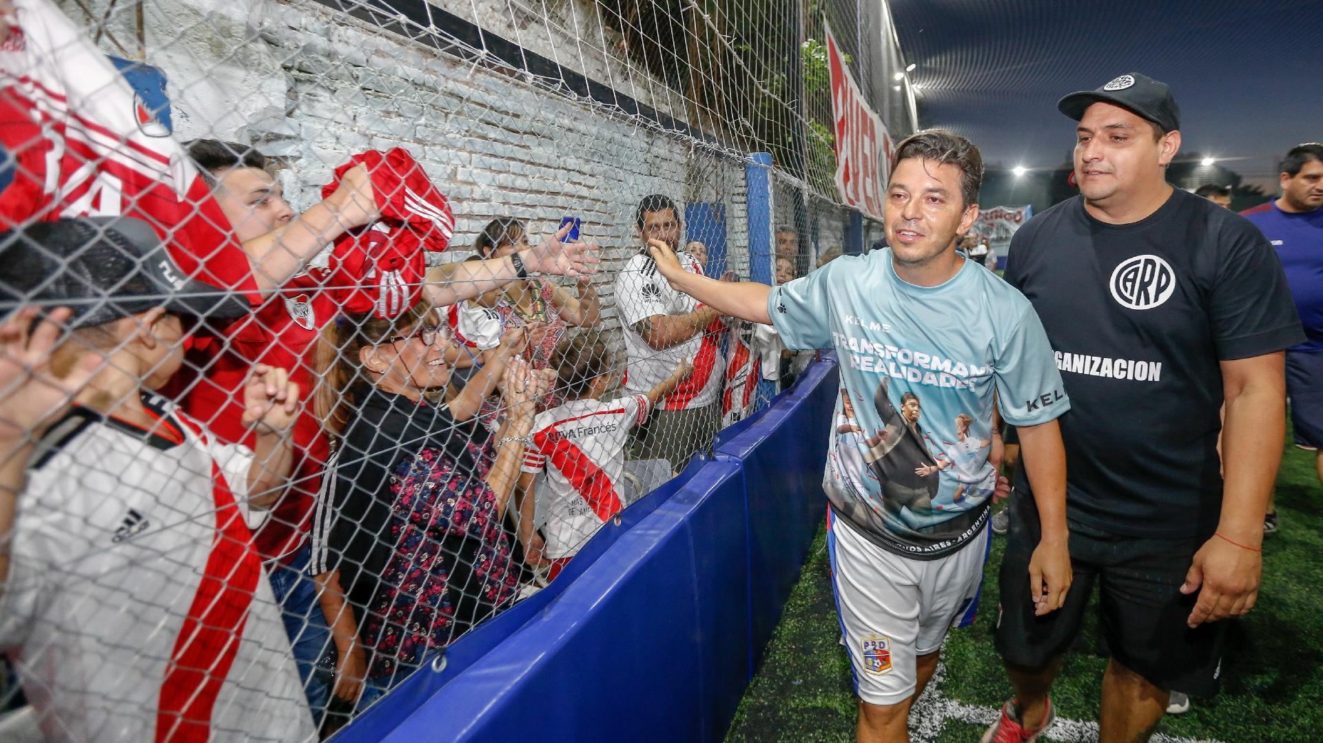 """El """"Muñeco"""" dejó varias perlitas de su talento, en la previa de la segunda Superfinal de la Copa Libertadores entre River y Boca"""