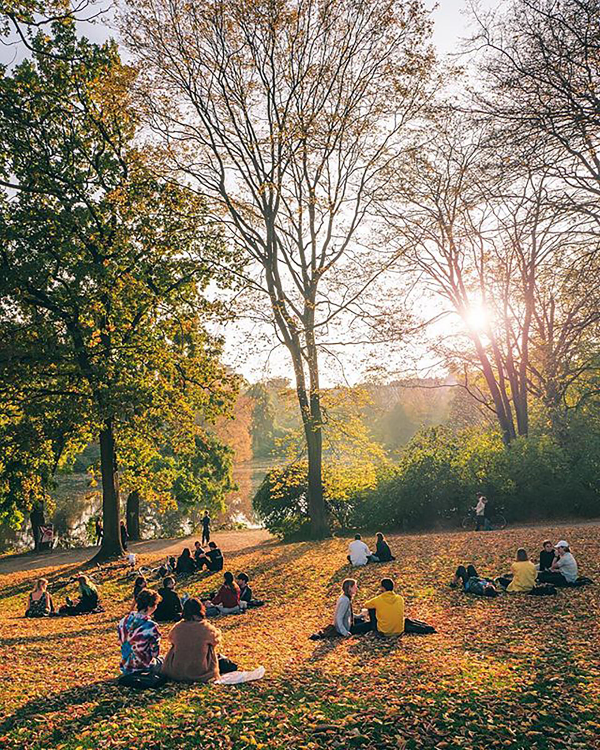 La vida al aire libre, uno de los placeres de sus habitantes y turistas