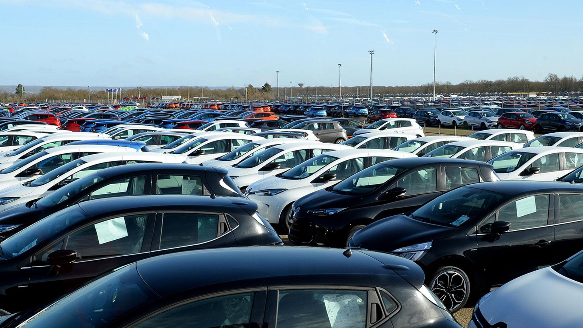 La industria automotriz argentina opera al 25,6% de su capacidad instalada (AFP)