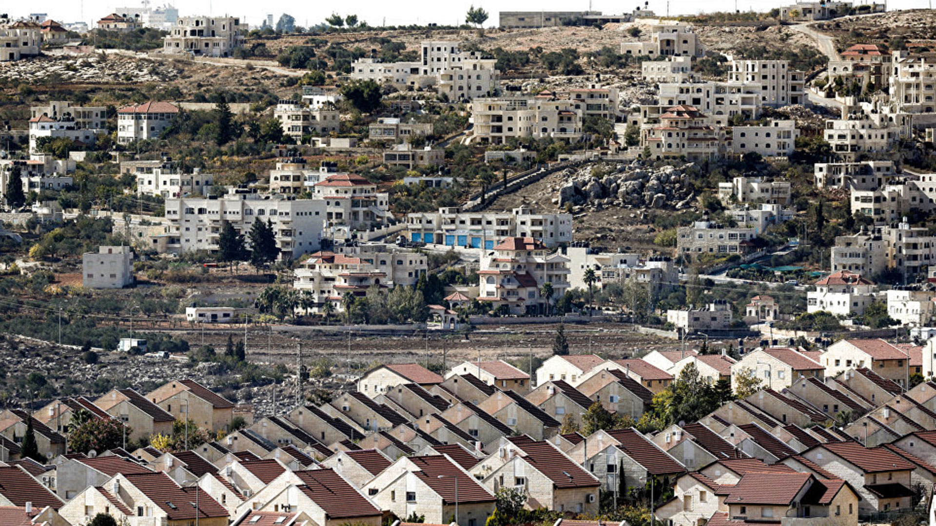 Colonias judías en Cisjordania