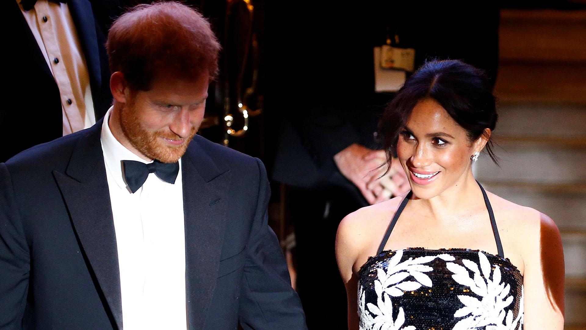 Harry y Meghan se conocieron en 2016 y se casaron el 19 de mayo pasado en la capilla de San Jorge, en el Castillo de Windsor /// Fotos: AFP- Reuters -AP