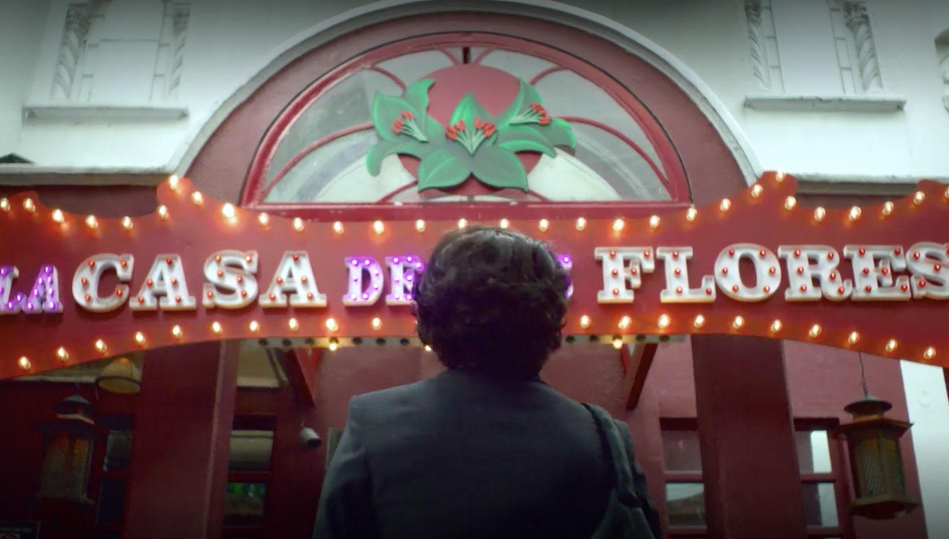 """En """"La Casa de las Flores"""", Verónica interpretaba a Virginia de la Mora."""