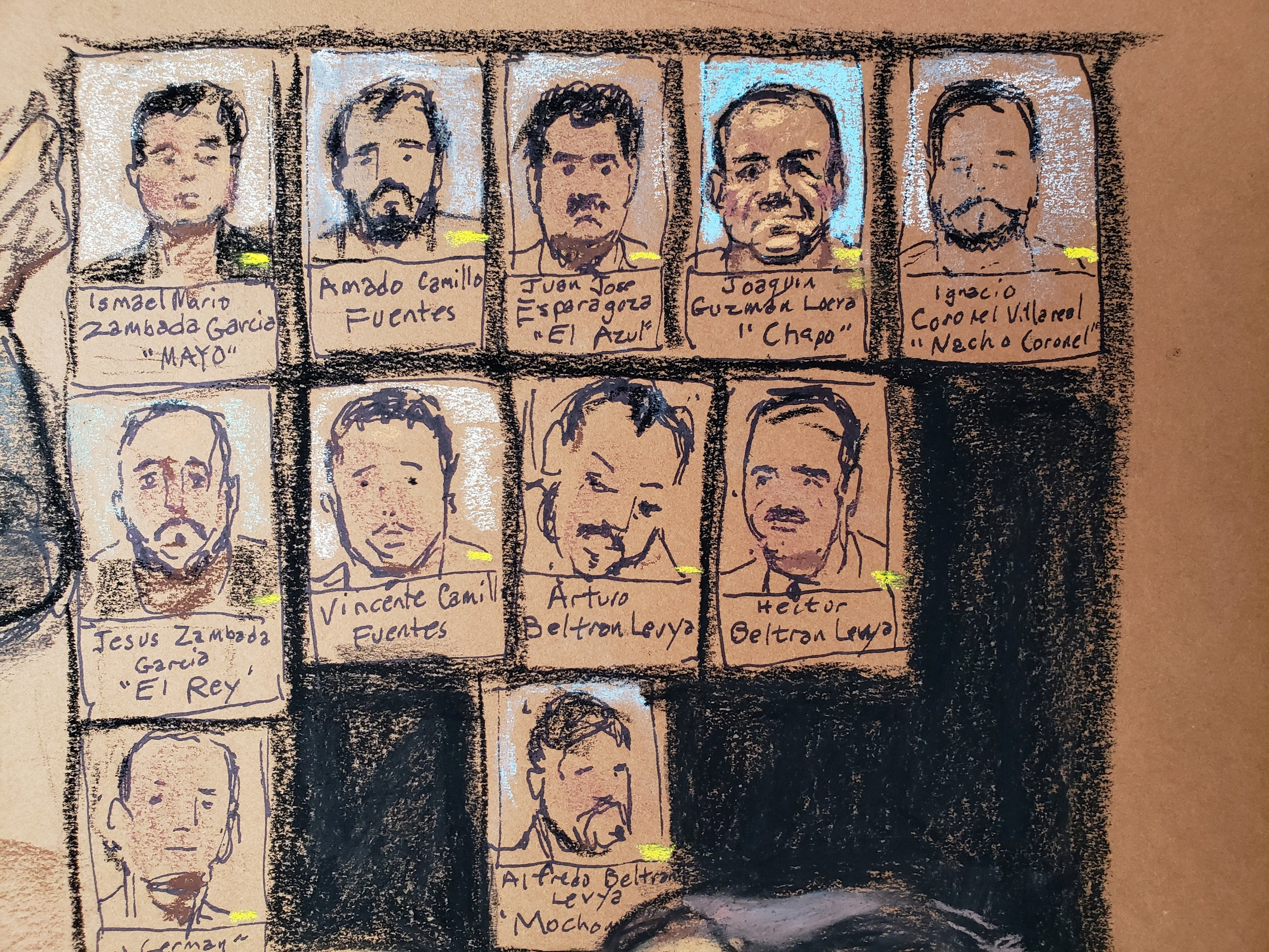 Los aliados y enemigos de Guzmán Loera (Foto: REUTERS/Jane Rosenberg)
