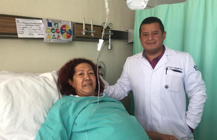 La paciente había recibido pronósticos nada alentadores por parte de los centros médicos que había visitado con anterioridad (Foto: Tu_IMSS)