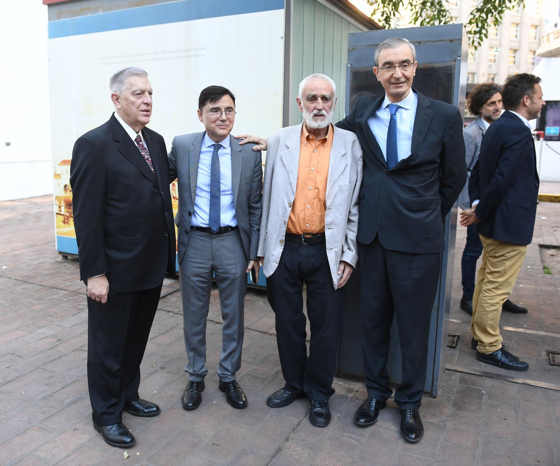 Biasatti, Fontevecchia, Graham-Yooll y Nelson Castro