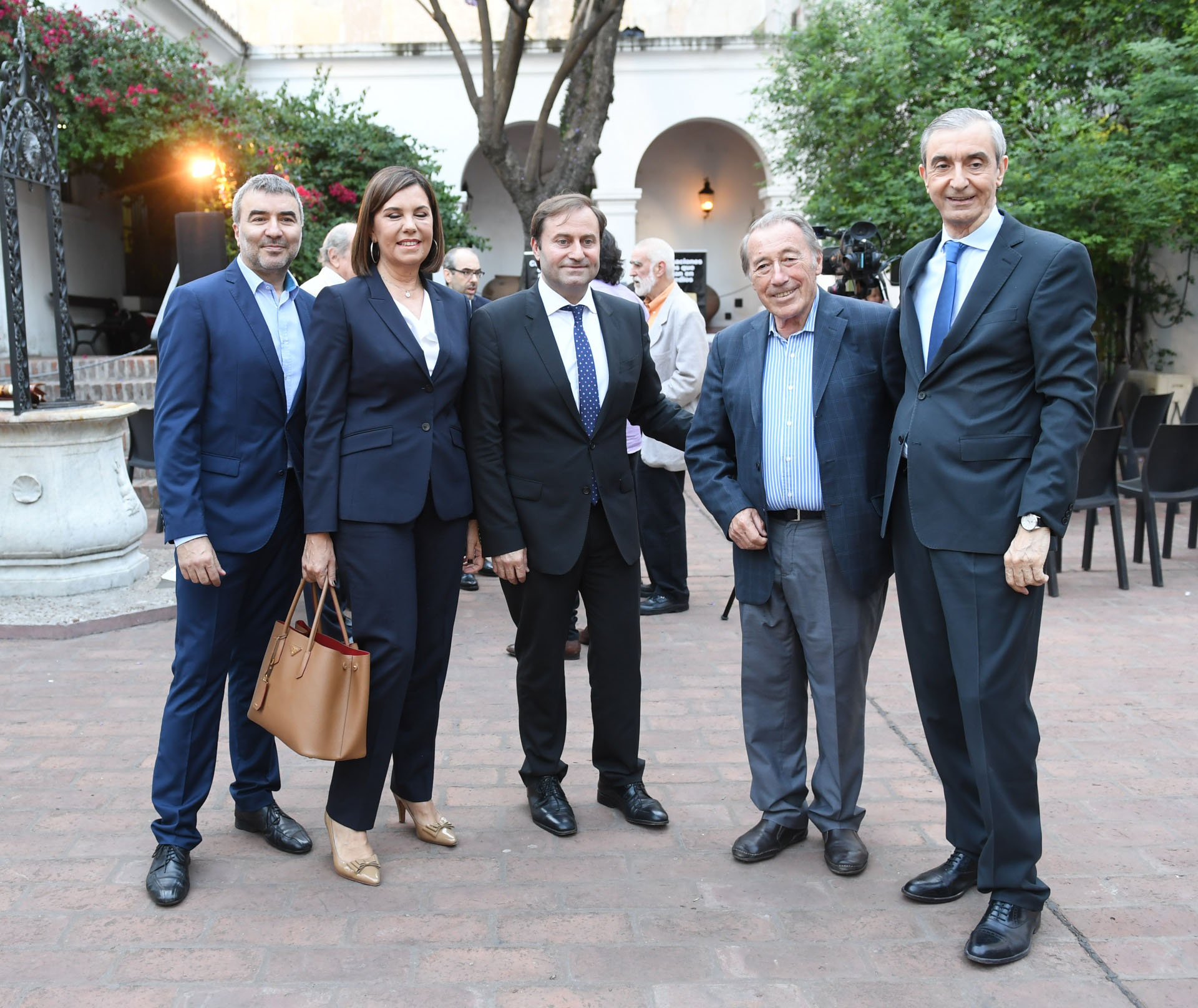 Javier Calvo, Liliana Parodi, Néstor Sclauzero, José Ignacio López y Nelson Castro