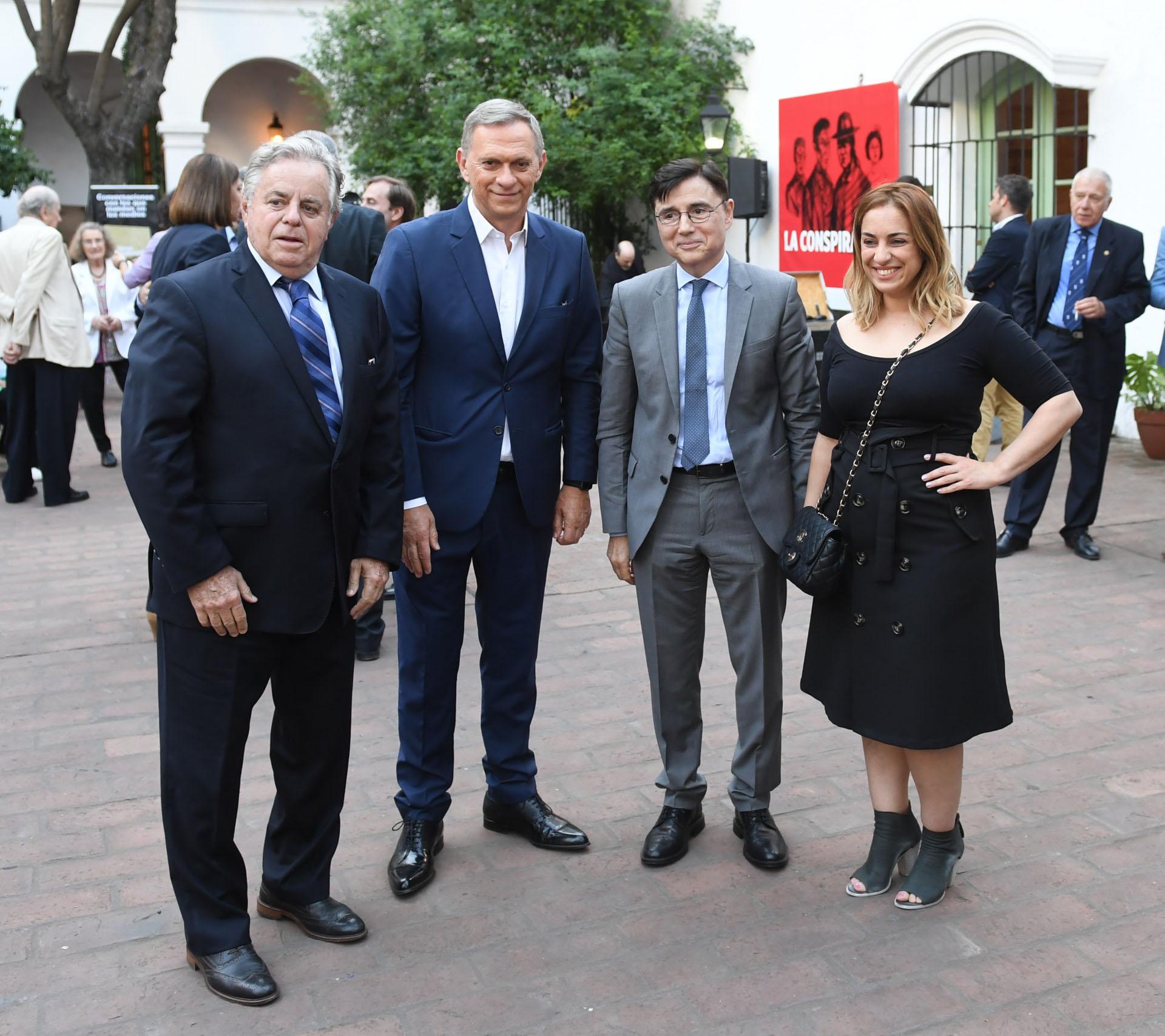 Roberto García, Marcelo Bonelli, Jorge Fontevecchia y María Julia Oliván