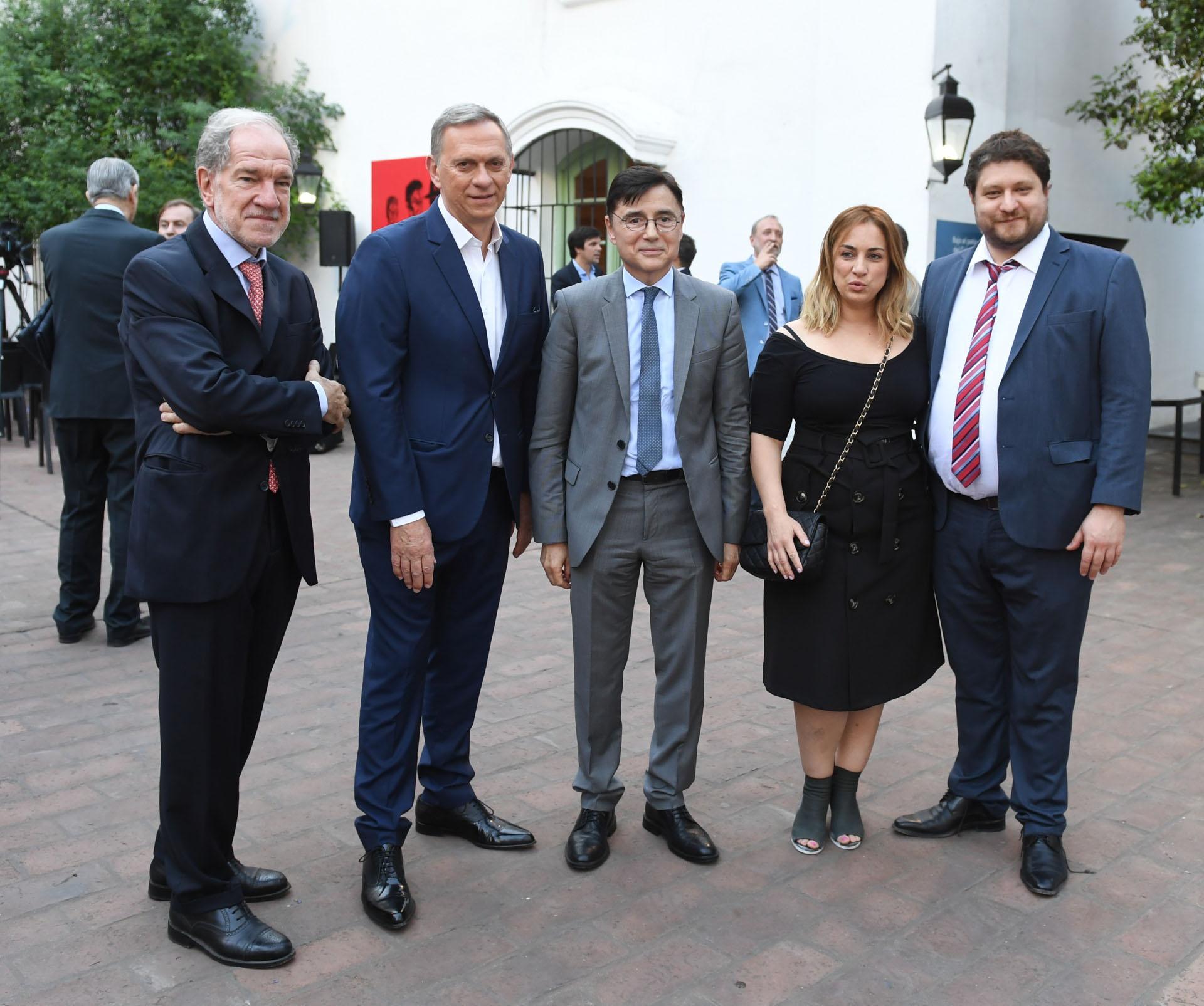 Héctor D'Amico, Marcelo Bonelli, Jorge Fontevecchia, María Julia Oliván y Nicolás Wiñazki