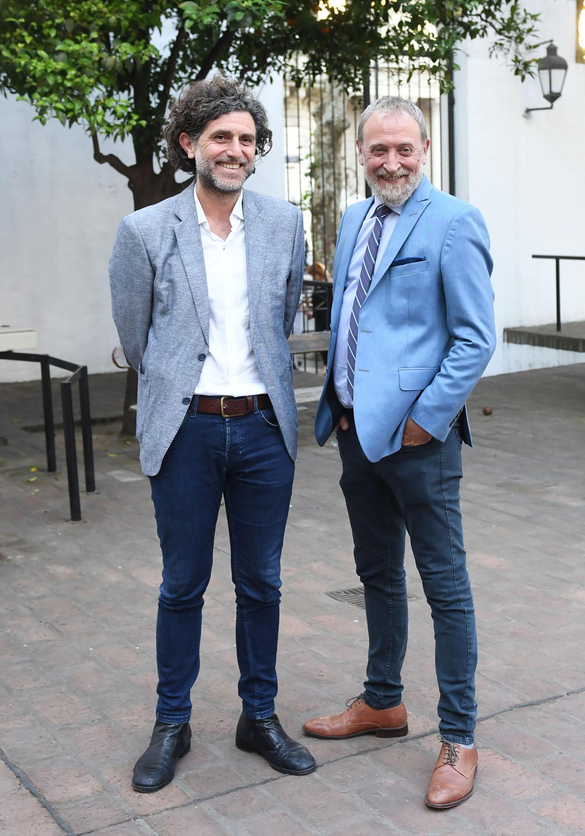 Nacho Iraola y Edi Zunino