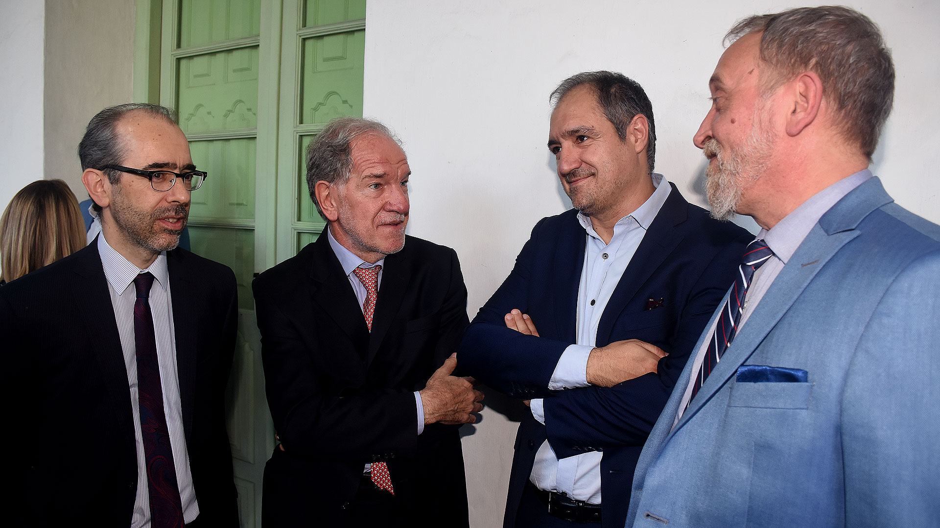 Gustavo González, Héctor D'Amico, Diego Cabot y Edi Zunino