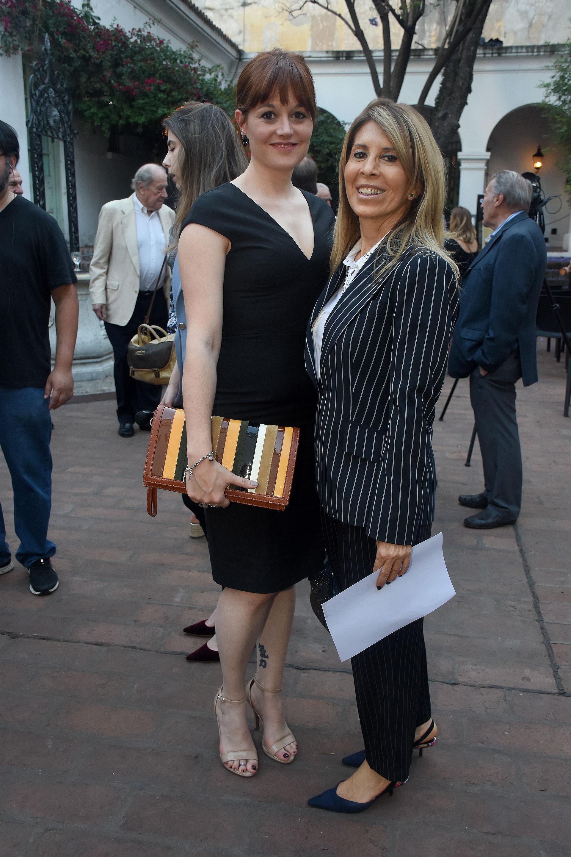 Ursula Ures Poreda, editora de Perfil.com, y Liliana Castaño, directora de revista Caras