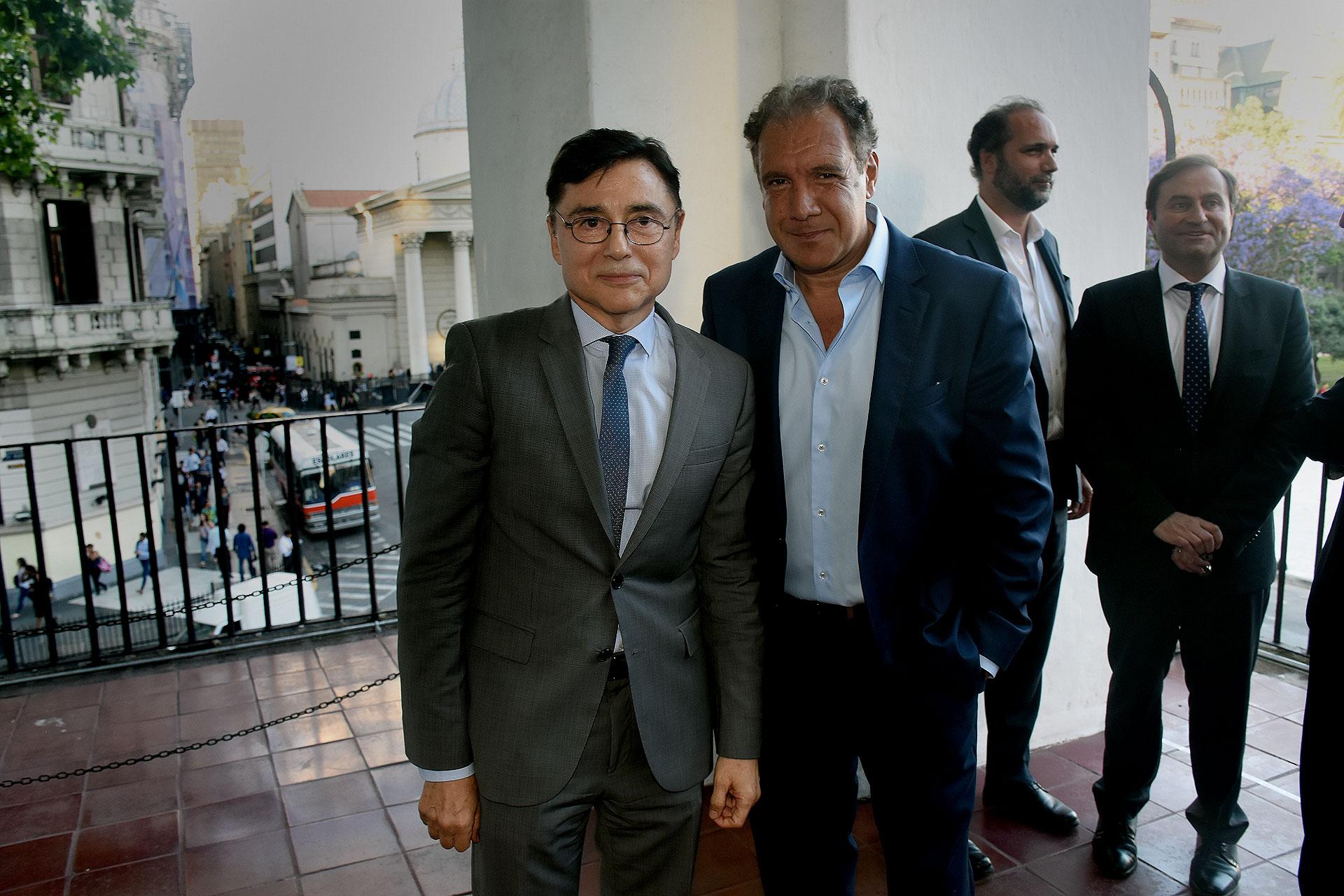 Jorge Fontevecchia y Daniel Hadad, fundador y CEO de Infobae
