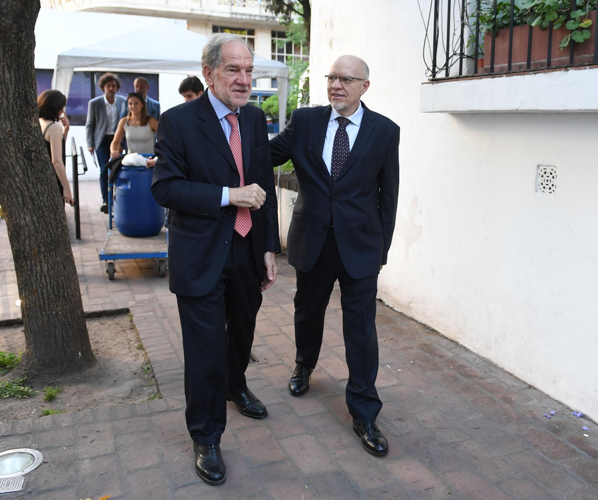 Héctor D'Amico y Jorge Fernández Díaz