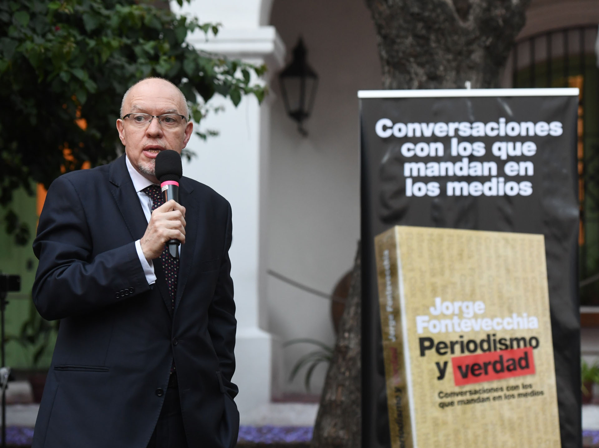 El periodista y escritor Jorge Fernández Díaz