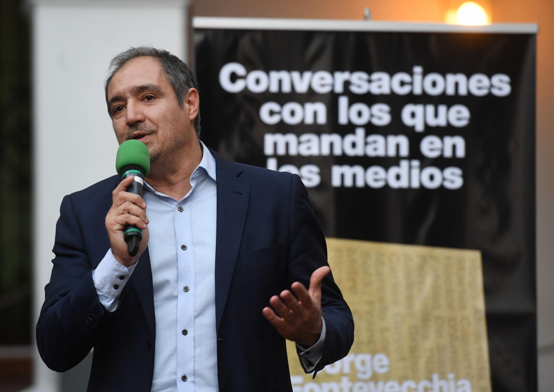 El periodista de La Nación Diego Cabot, que destapó la investigación de los cuadernos