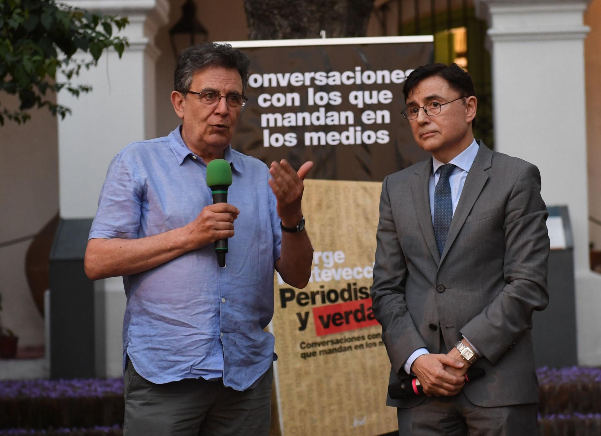 El ex secretario general de Clarín, Roberto Guareschi
