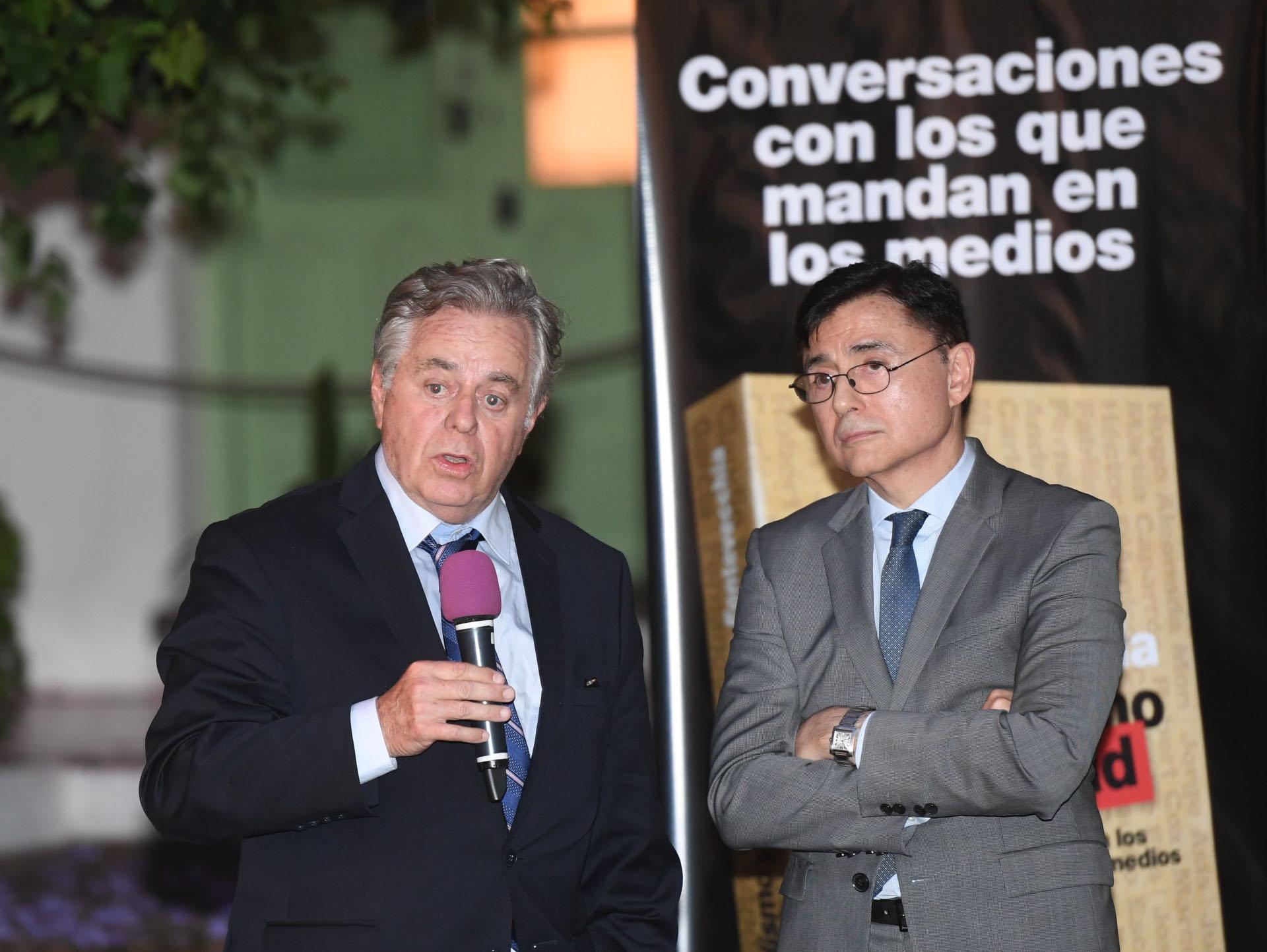 El periodista Roberto García