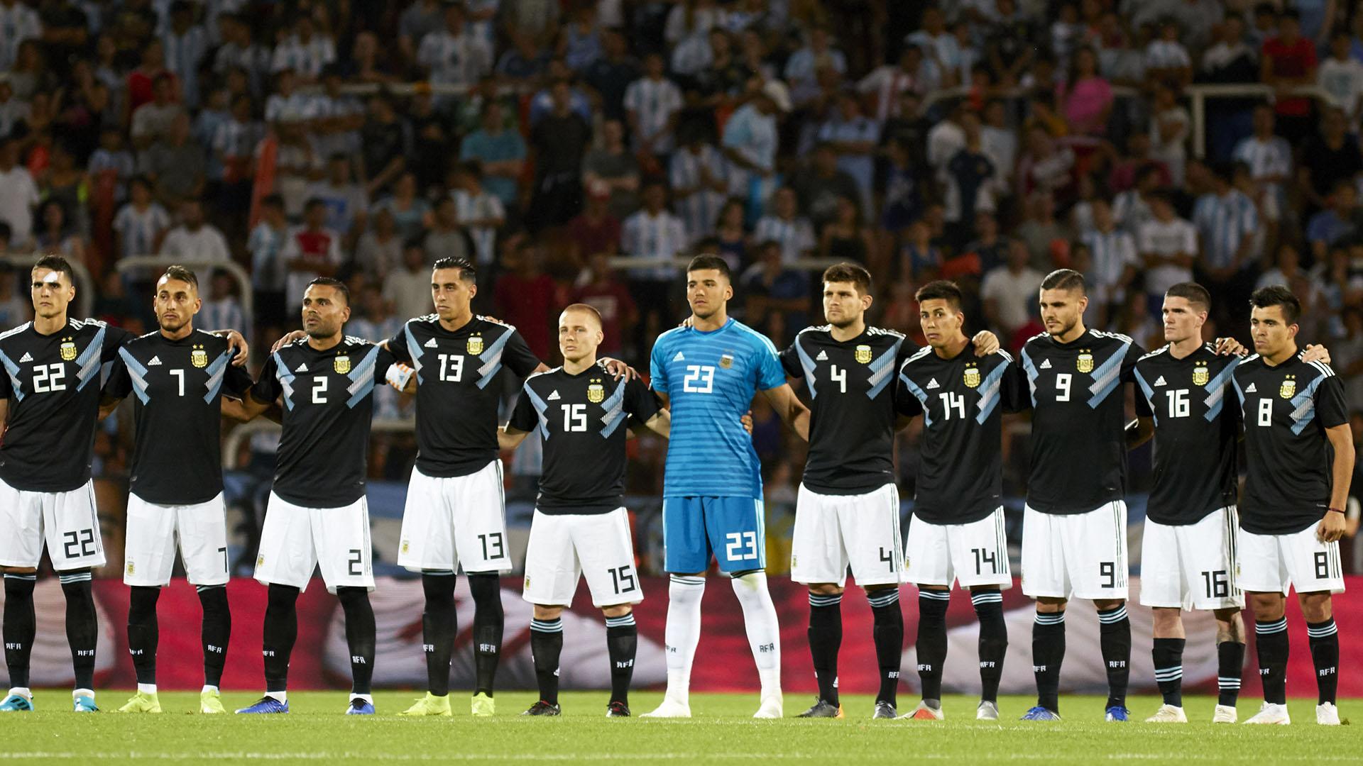 Con dos ráfagas de Icardi y Dybala, la Argentina de Scaloni venció a México en la última prueba de 2018 Foto: Axel Lloret / ARGRA 2250