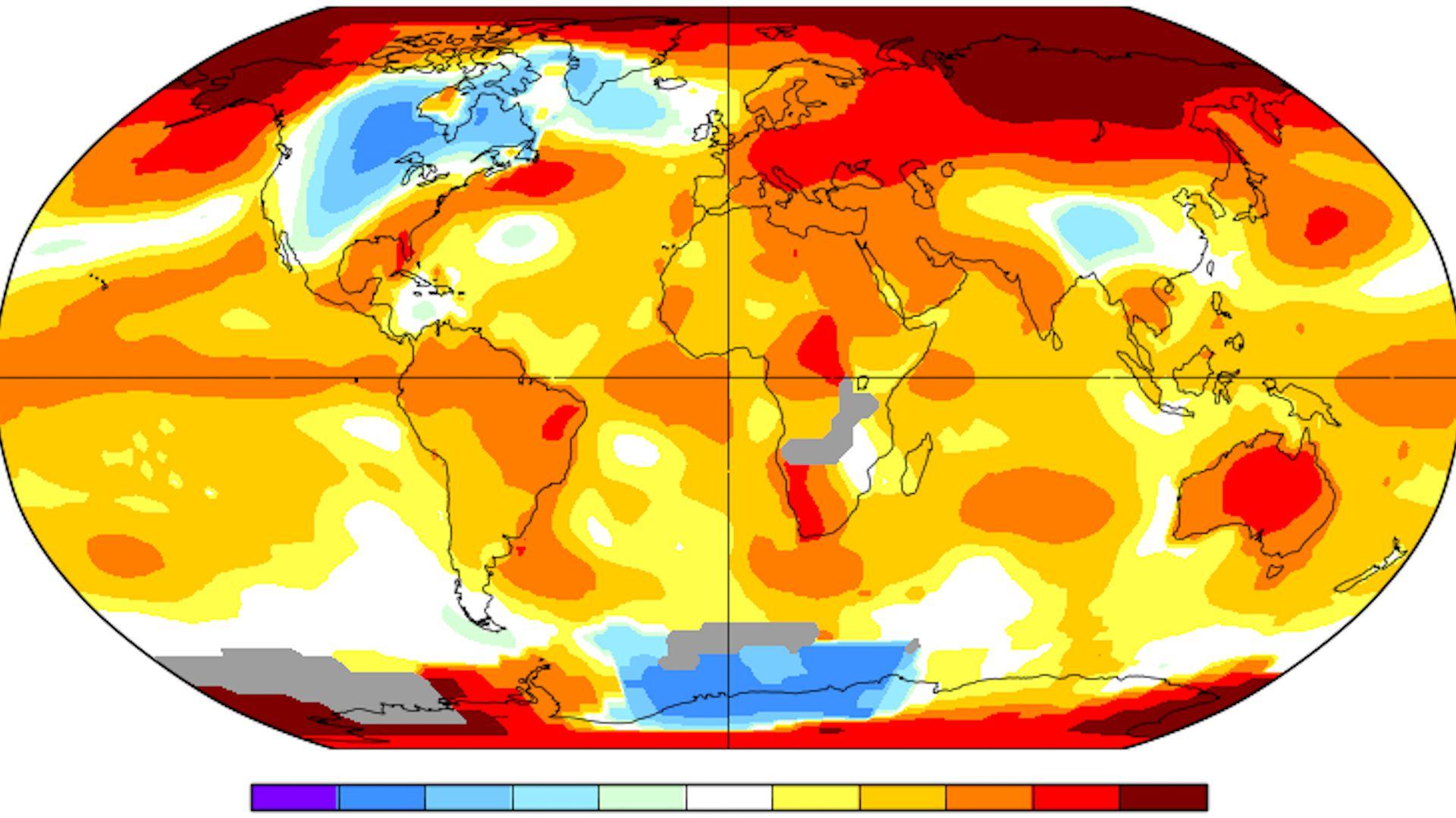 Calentamiento global es cada vez más inminente (Foto: Especial NASA)