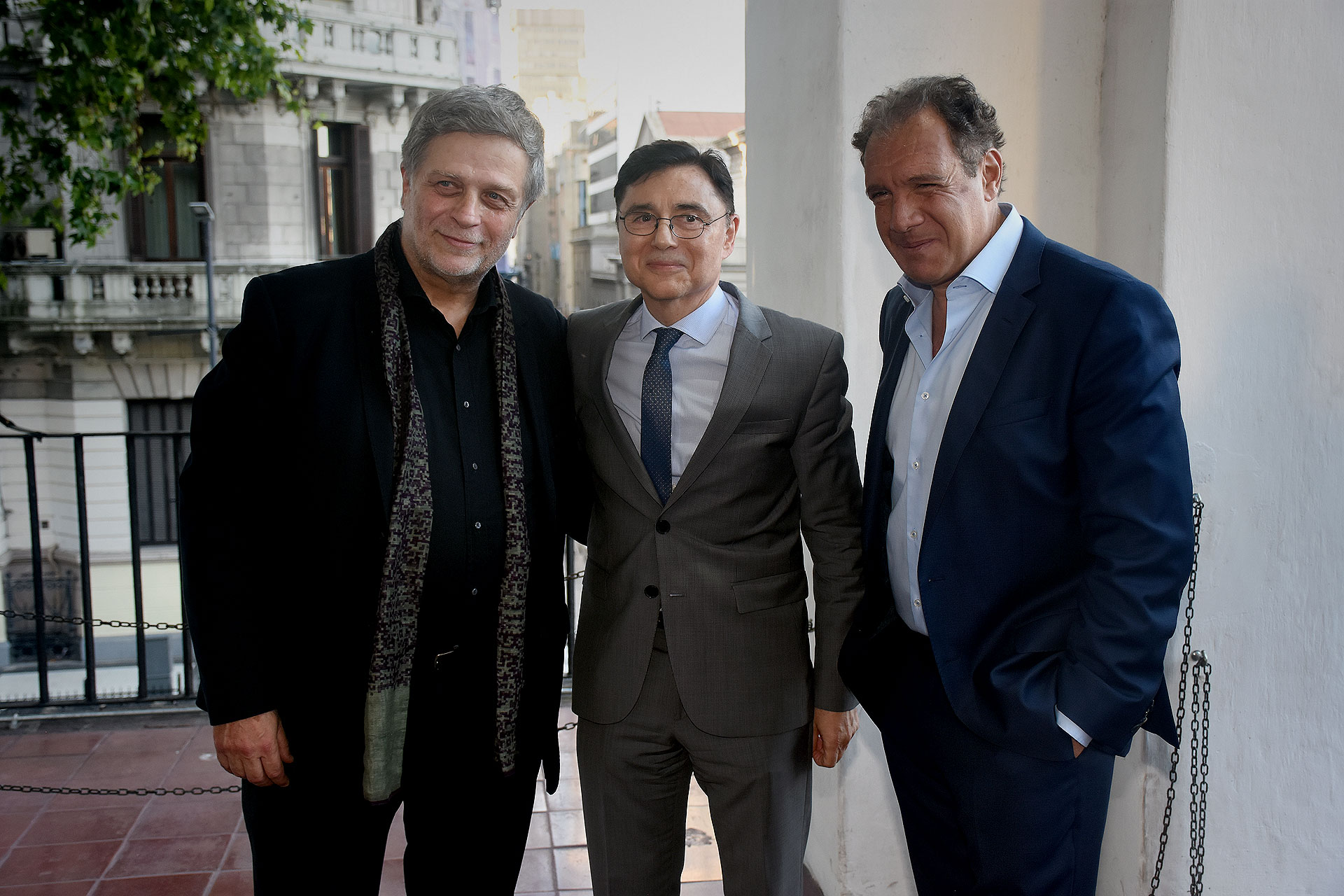 Fernando Sokolowicz, Jorge Fontevecchia y Daniel Hadad