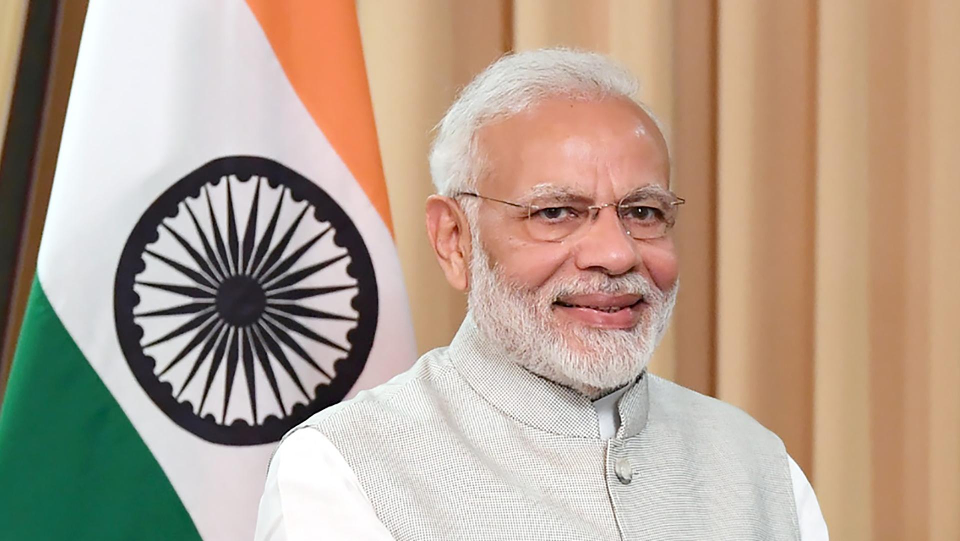 Nerendra Modi, primer ministro de la India