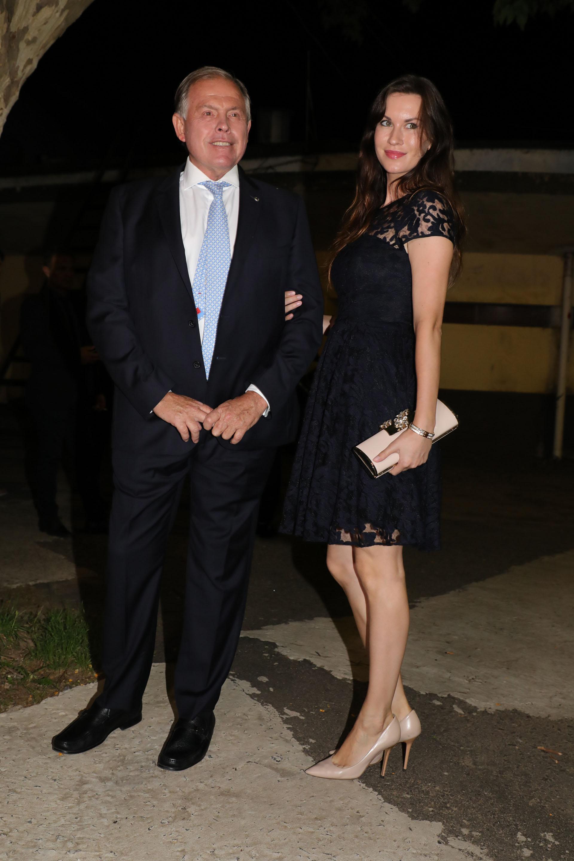 Gerardo Werthein y su novia